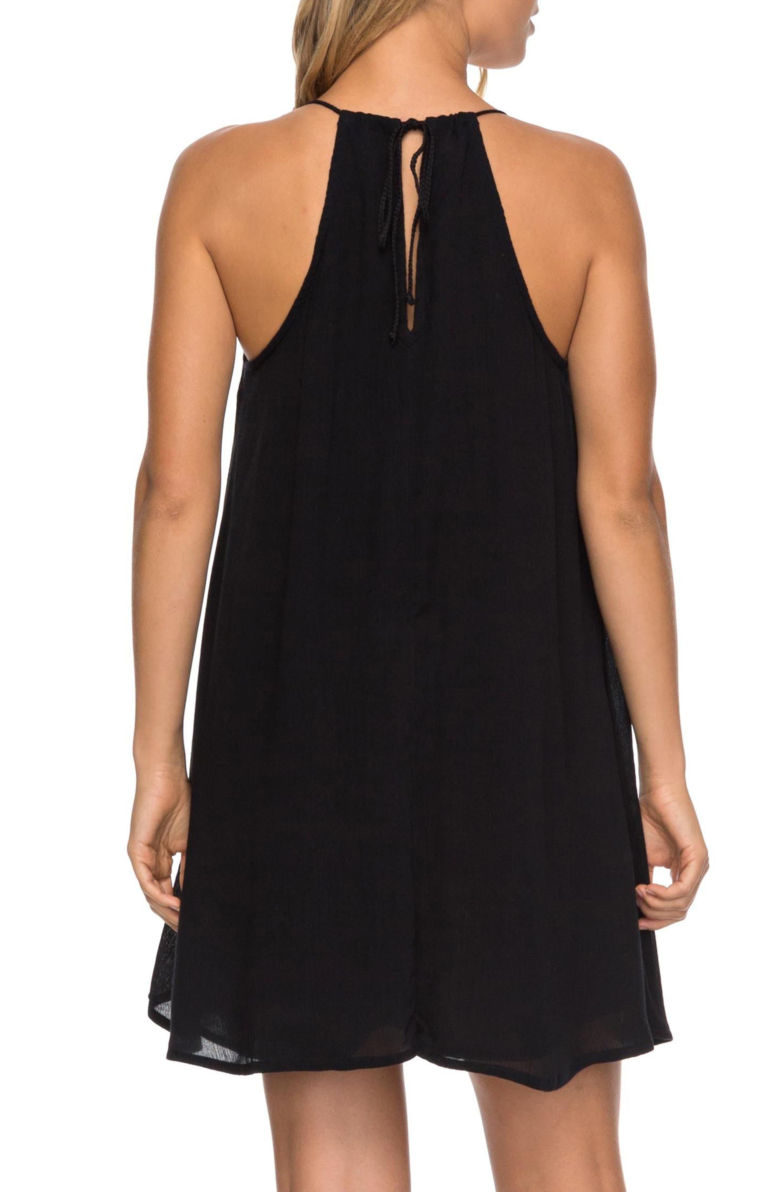 Alternate Image 2  - Roxy Great Intentions Trapeze Dress