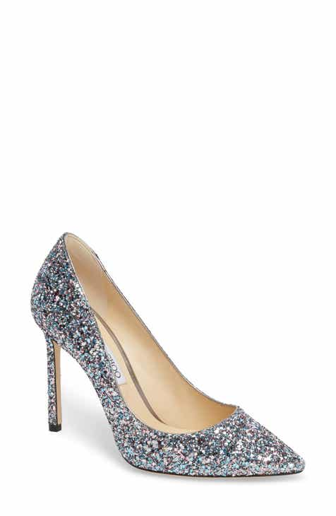 f116bb81afb9 Jimmy Choo Romy Glitter Pump (Women)