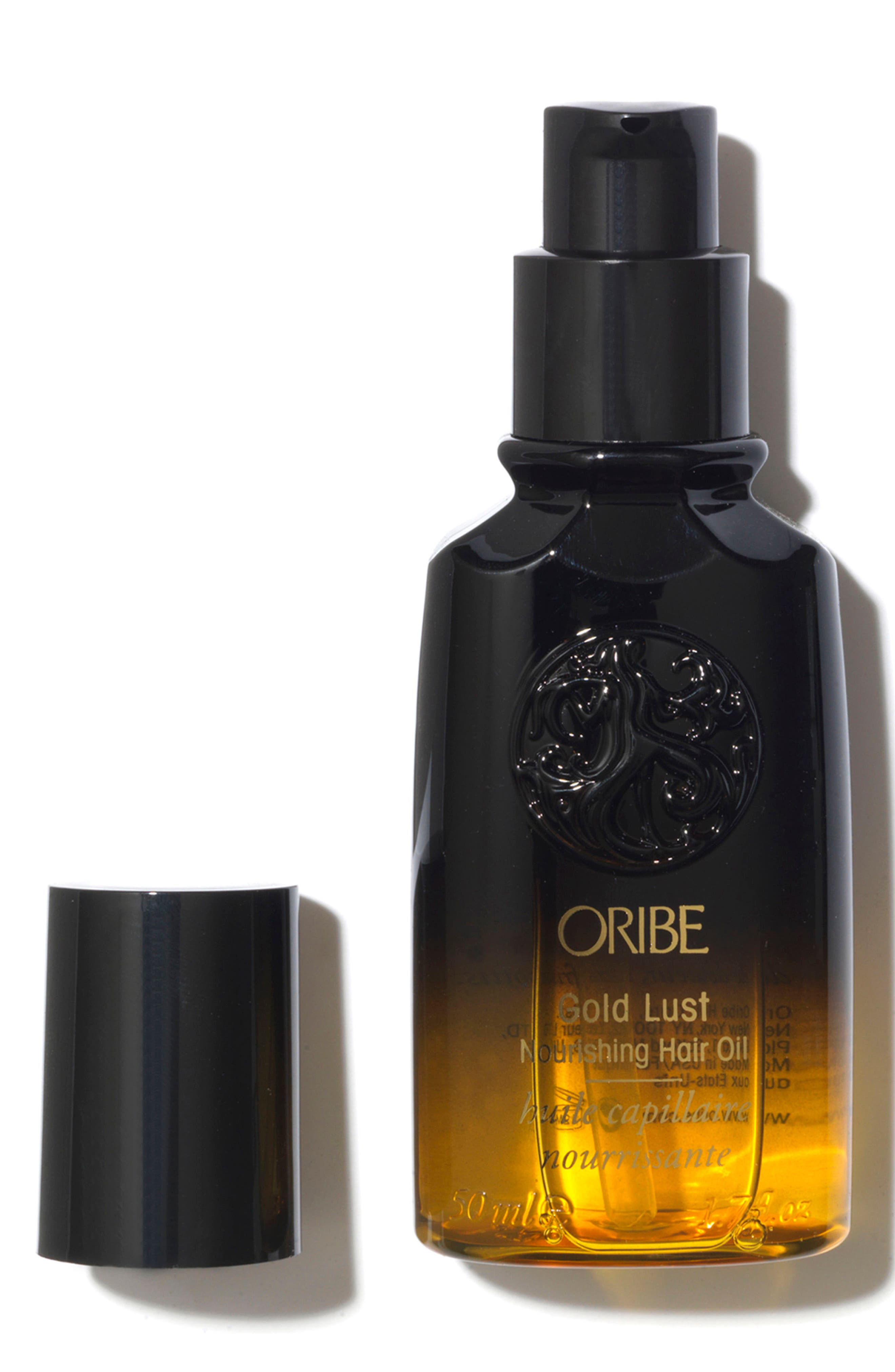 SPACE.NK.apothecary Oribe Gold Lust Nourishing Hair Oil,                             Alternate thumbnail 3, color,                             No Color