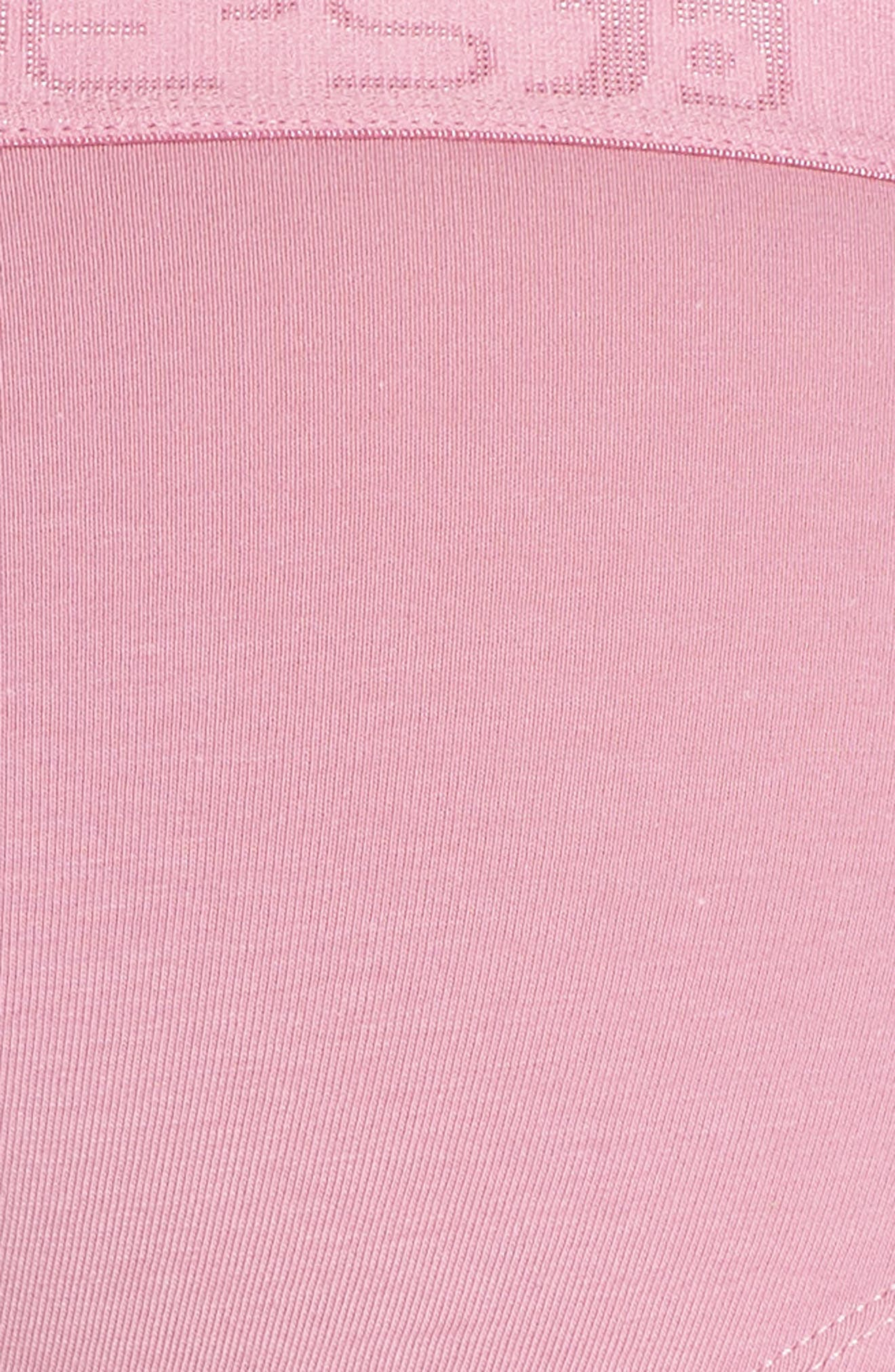 Logo Basic Hipster Panties,                             Alternate thumbnail 7, color,                             Rose Violet