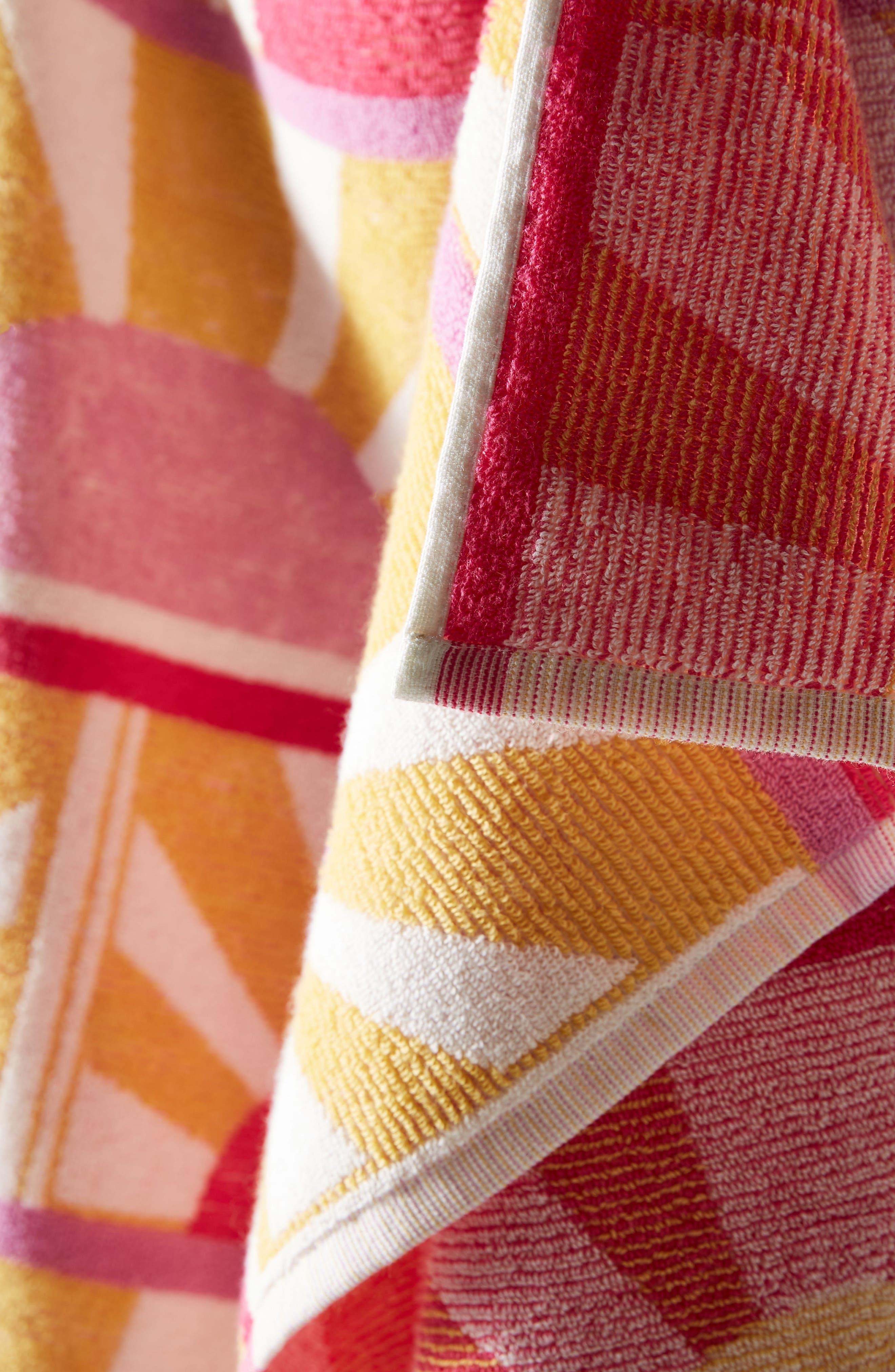 Sun Star Beach Towel,                             Alternate thumbnail 2, color,                             Rose