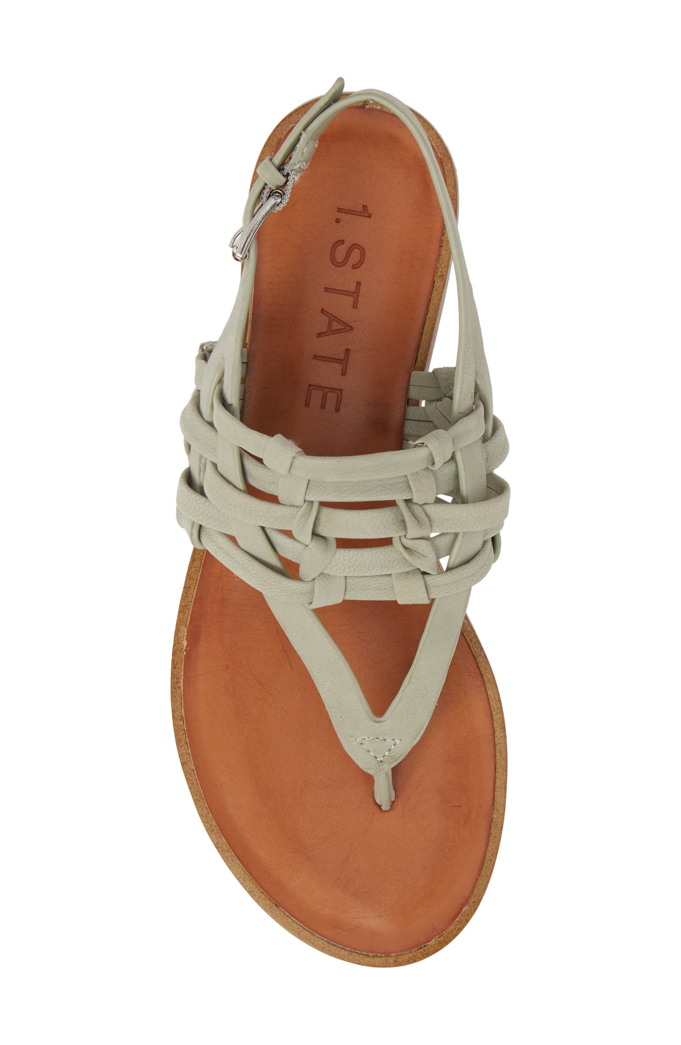 Lenn Sandal,                             Alternate thumbnail 5, color,                             Nettle Nubuck Leather