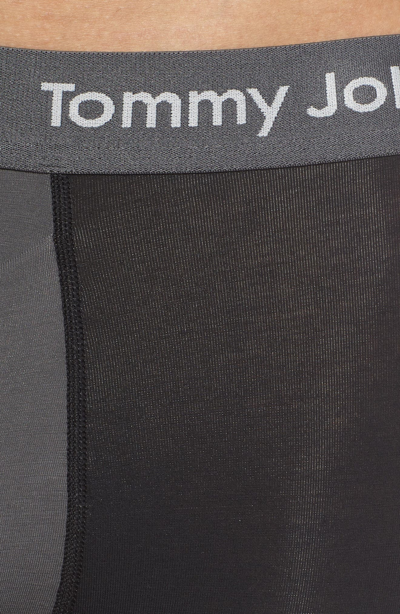 Cool Cotton Trunks,                             Alternate thumbnail 2, color,                             Black/ Iron Grey