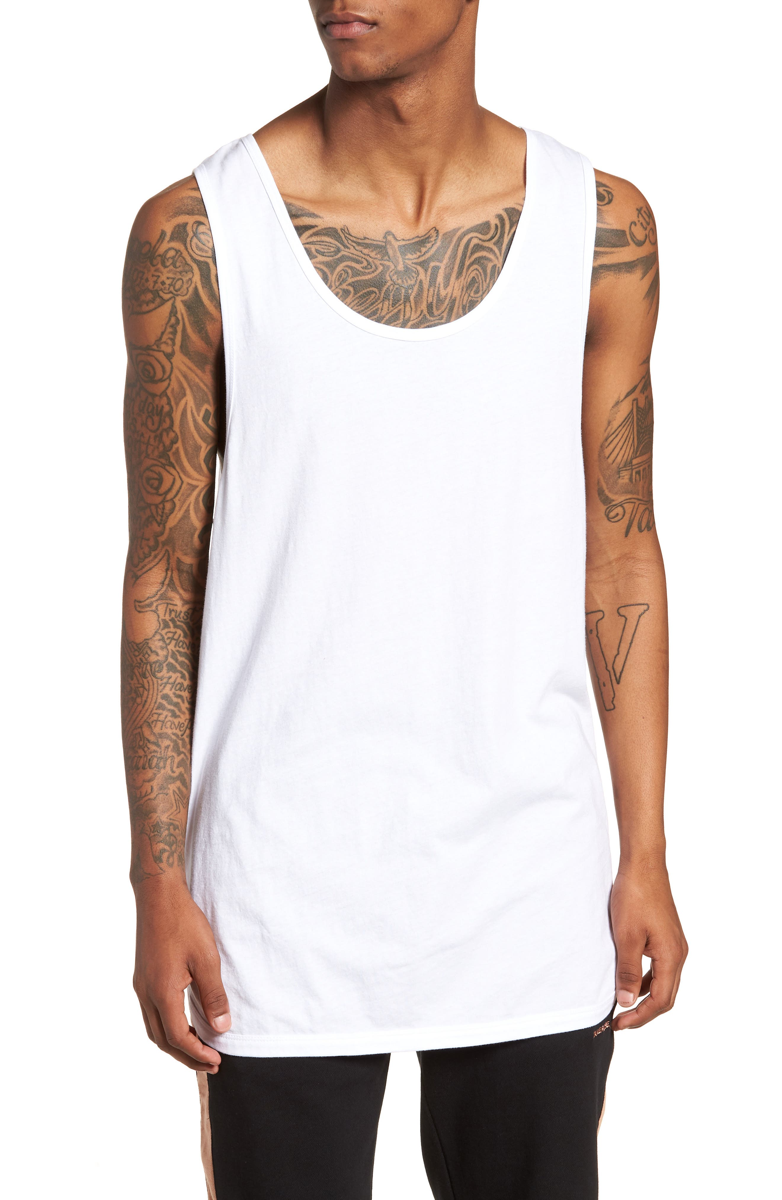 Rugger Tank,                         Main,                         color, White