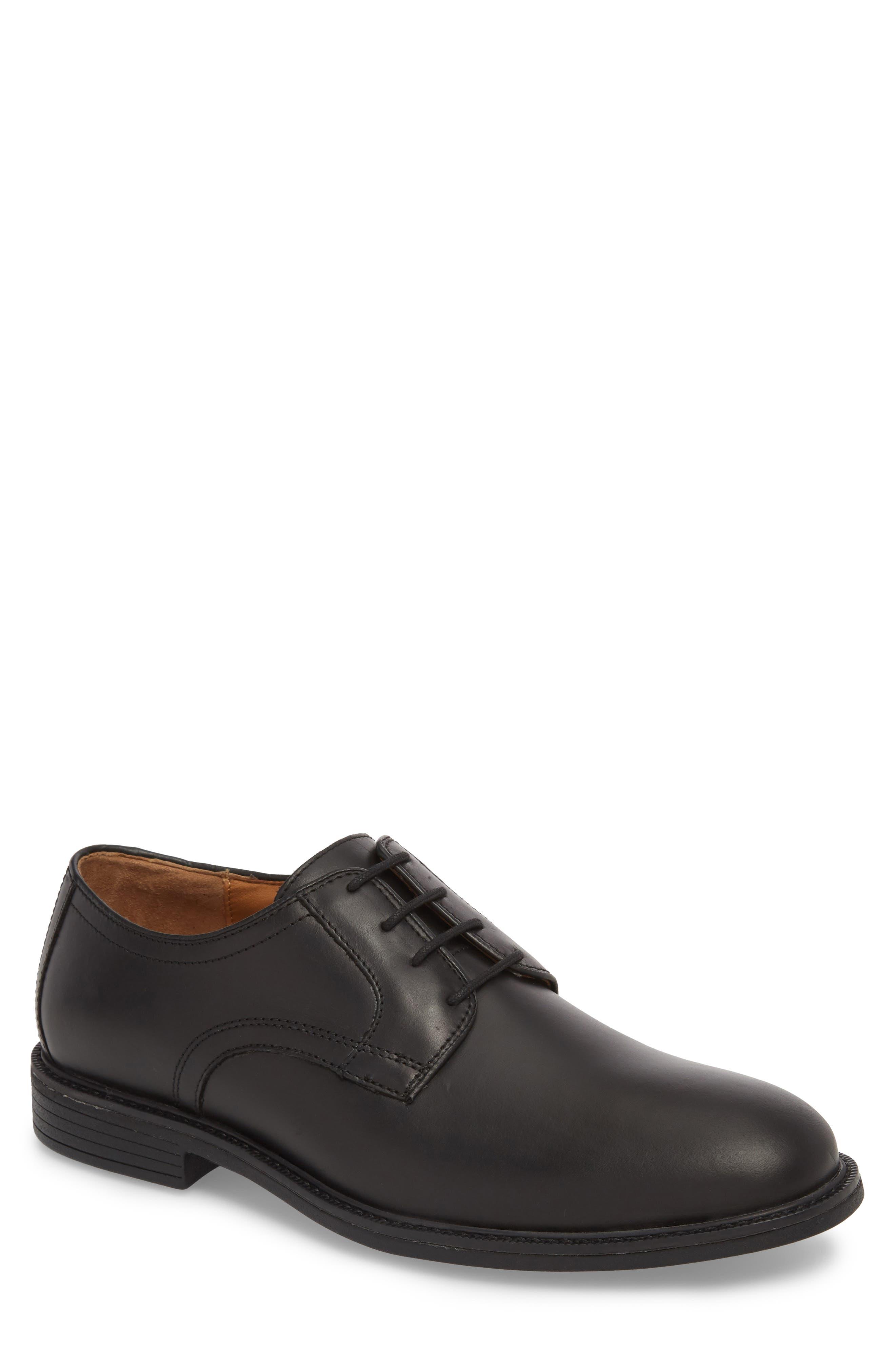 Hollis XC4<sup>®</sup> Plain Toe Derby,                         Main,                         color, Black Nubuck