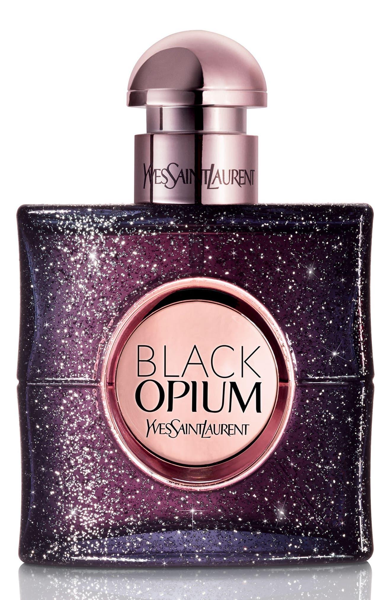 Black Opium Nuit Blanche Eau de Parfum,                             Alternate thumbnail 4, color,                             No Color