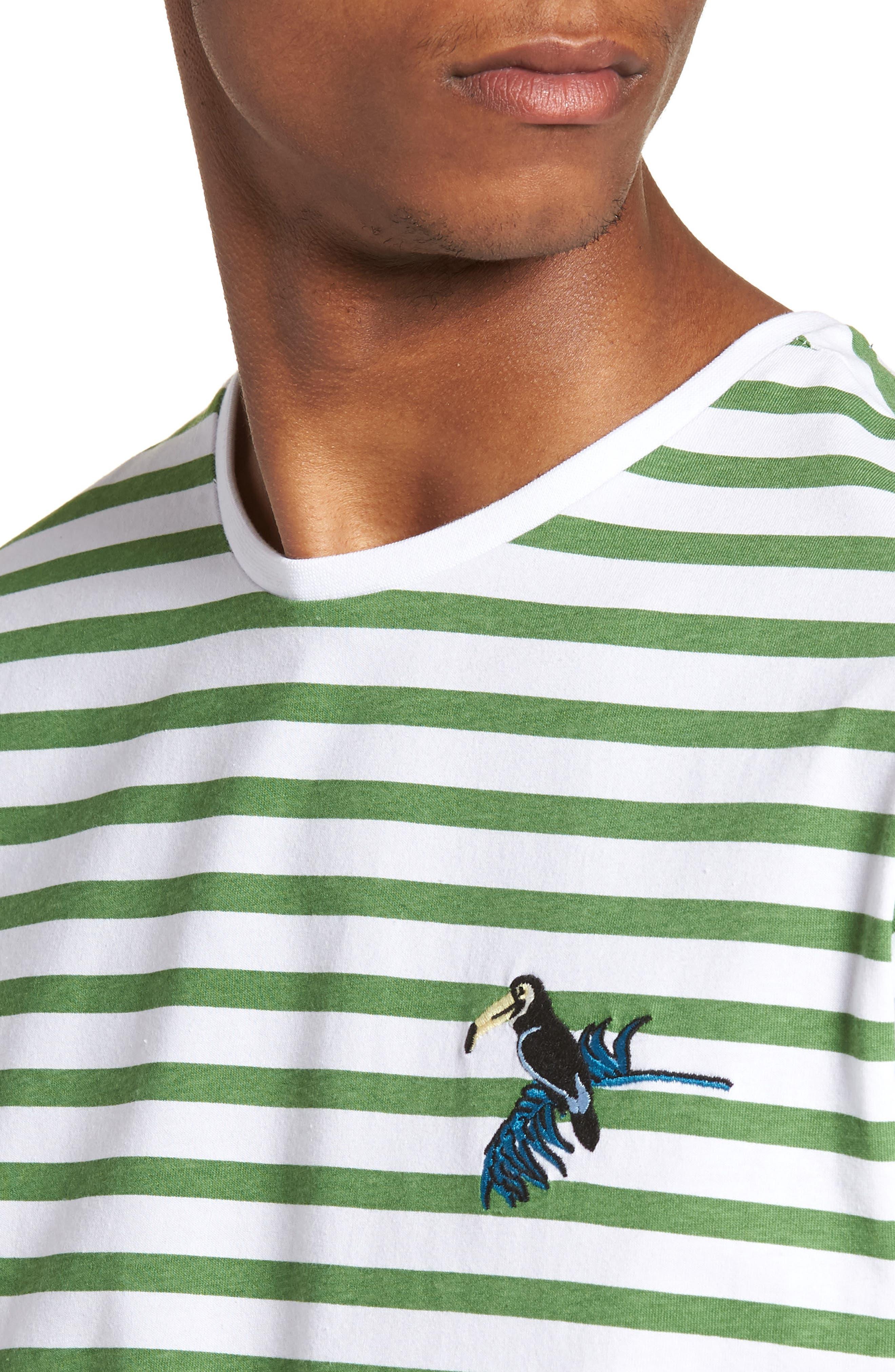 Abalone T-Shirt,                             Alternate thumbnail 4, color,                             Green