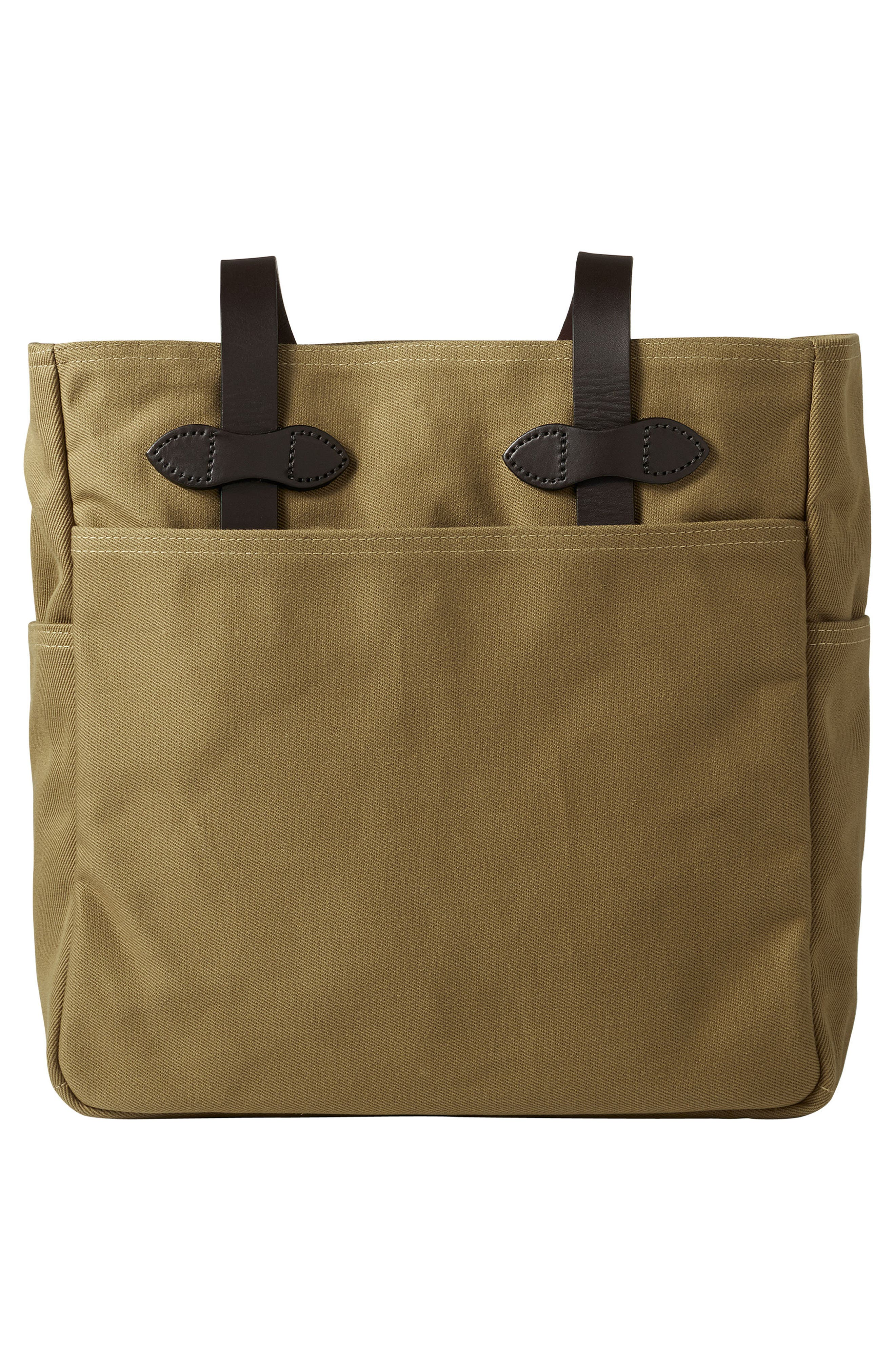 Rugged Twill Tote Bag,                             Alternate thumbnail 2, color,                             Tan