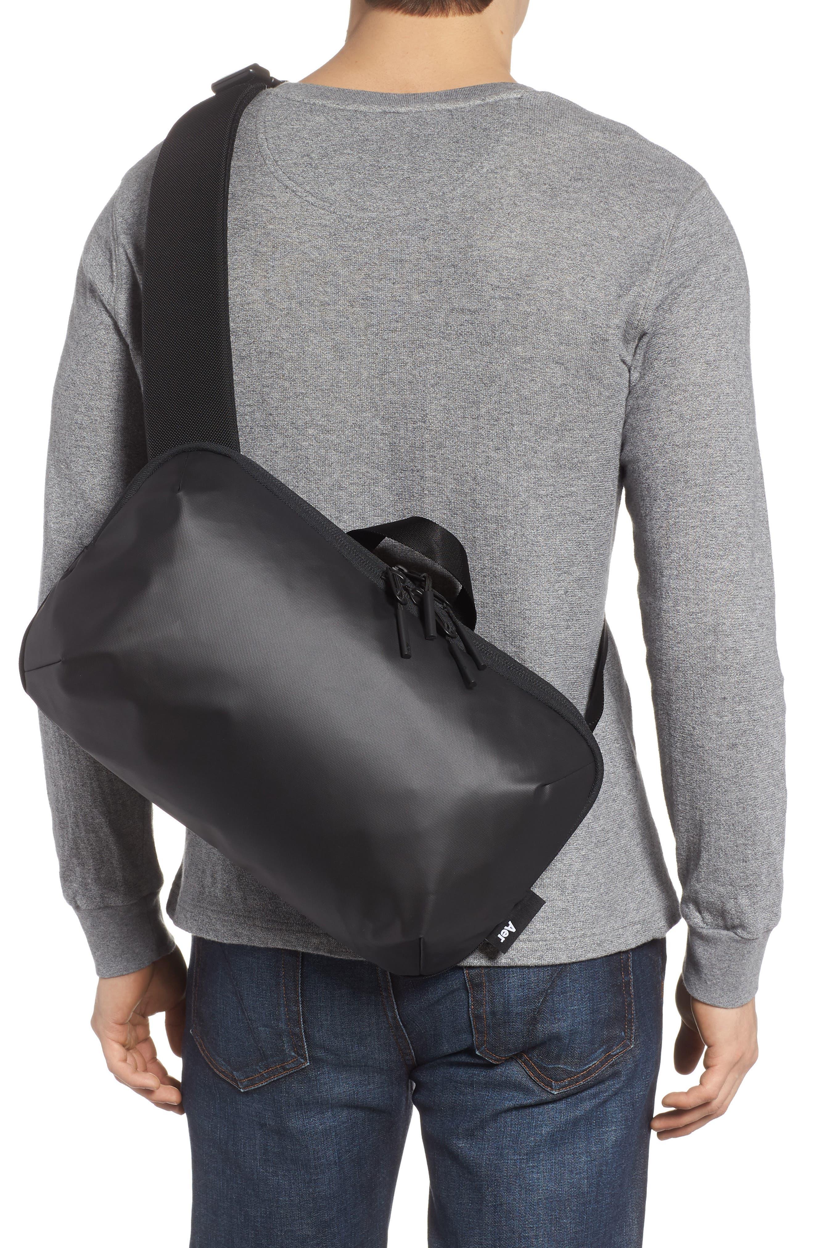 Tech Sling Bag,                             Alternate thumbnail 2, color,                             Black