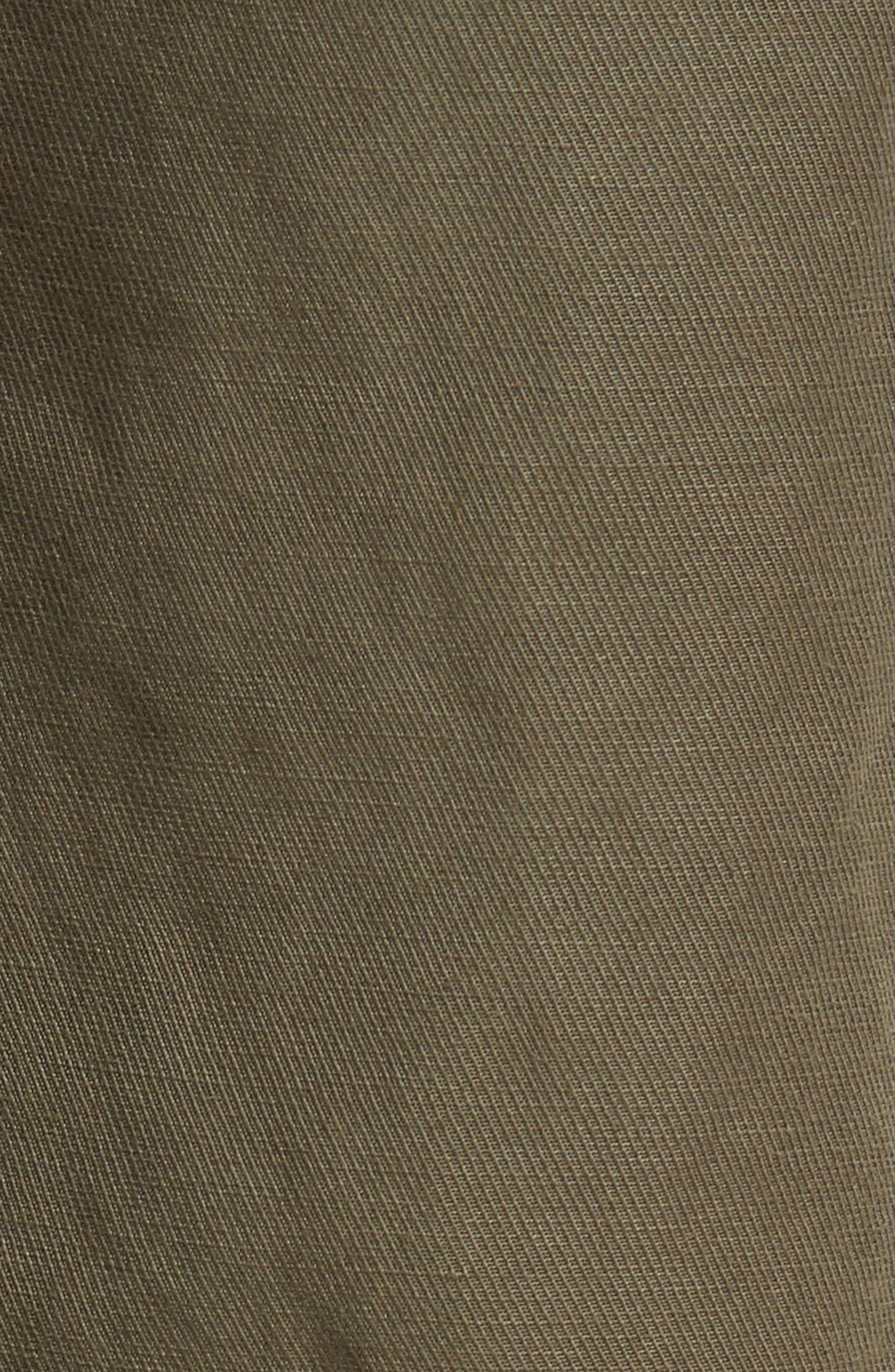 Stellina High Waist Pants,                             Alternate thumbnail 6, color,                             Verdant