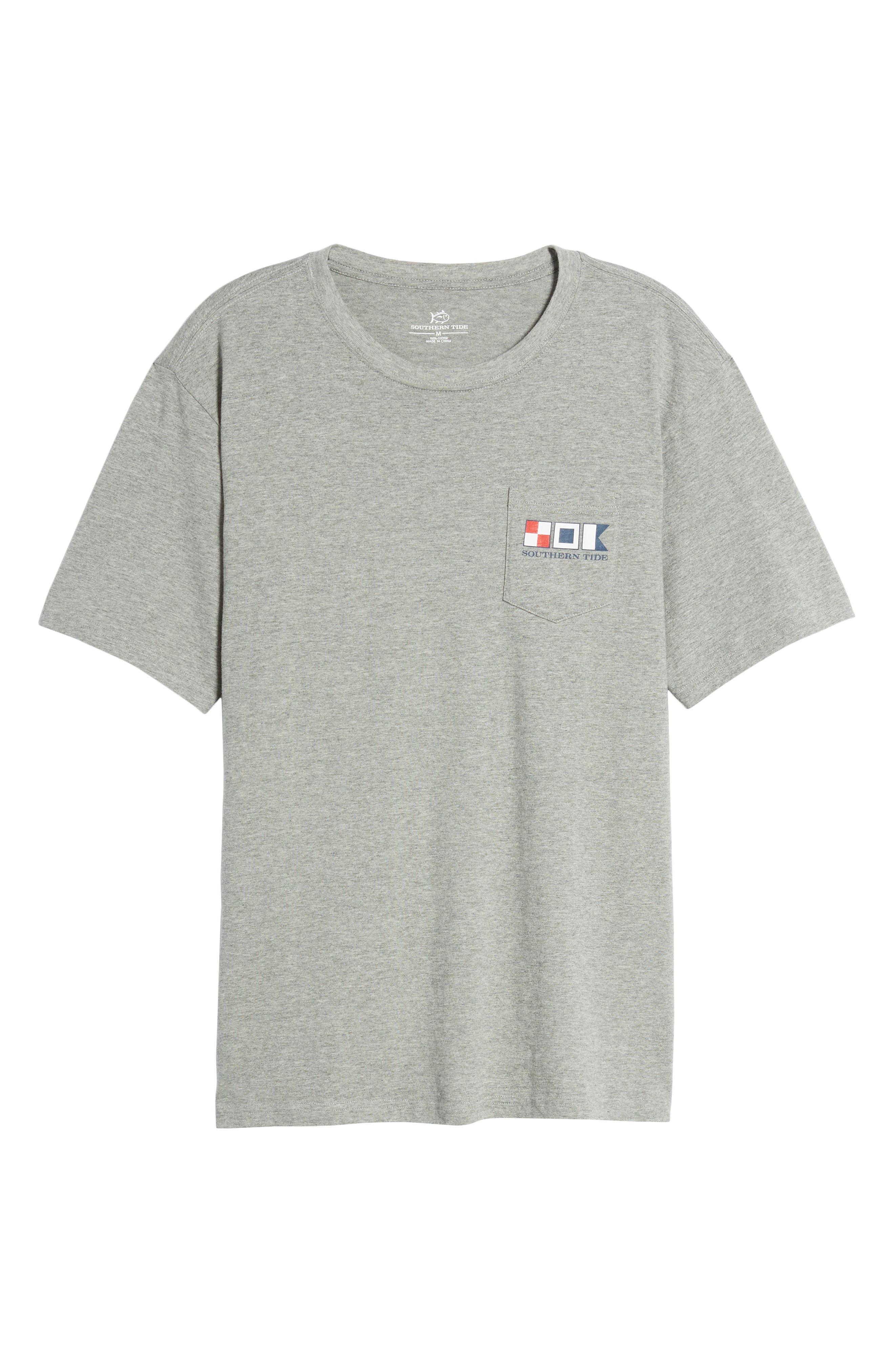 We the People Regular Fit T-Shirt,                             Alternate thumbnail 6, color,                             Grey