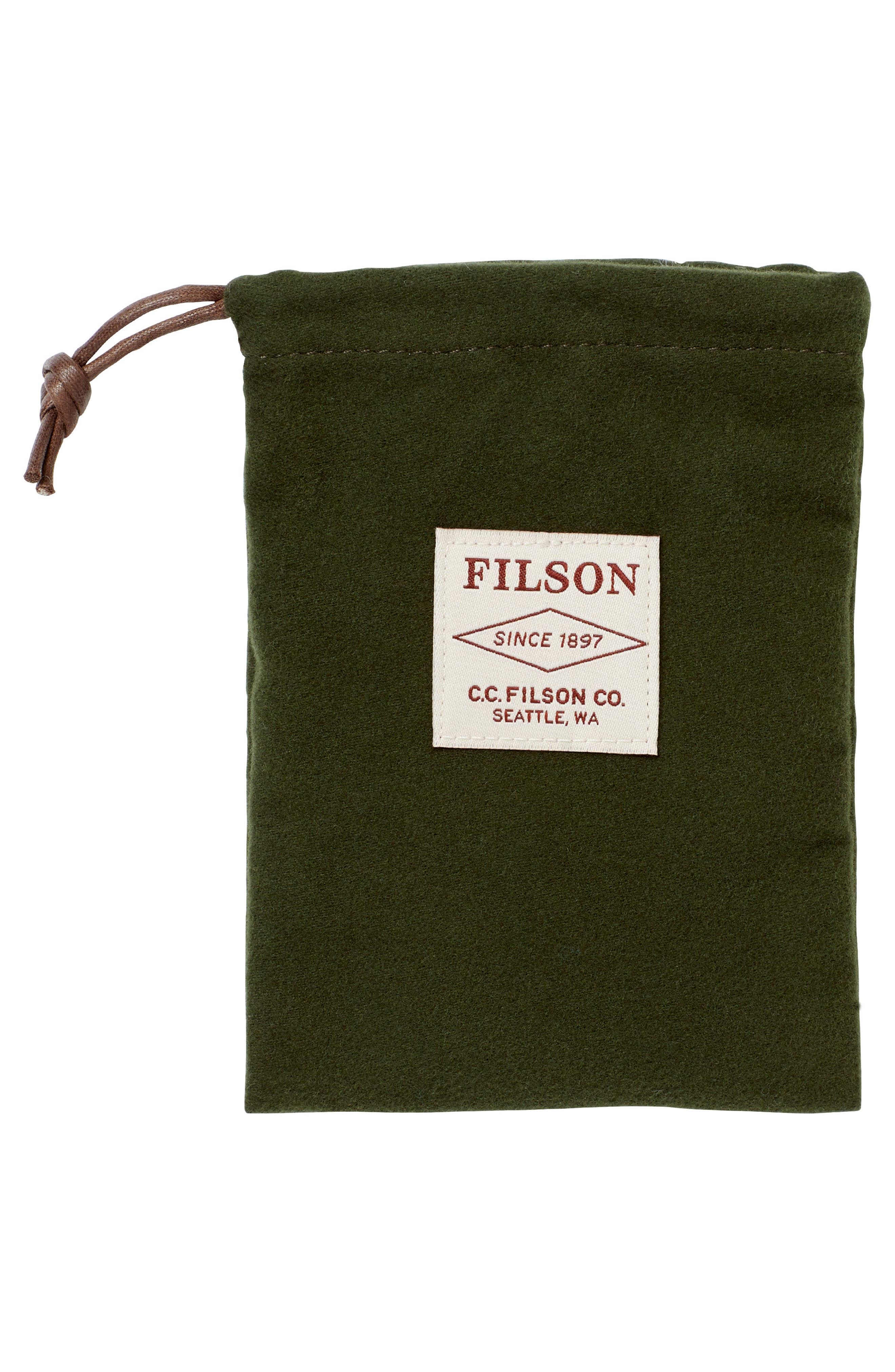 Alternate Image 3  - Filsone Outfitter Leather & Canvas Bifold Wallet