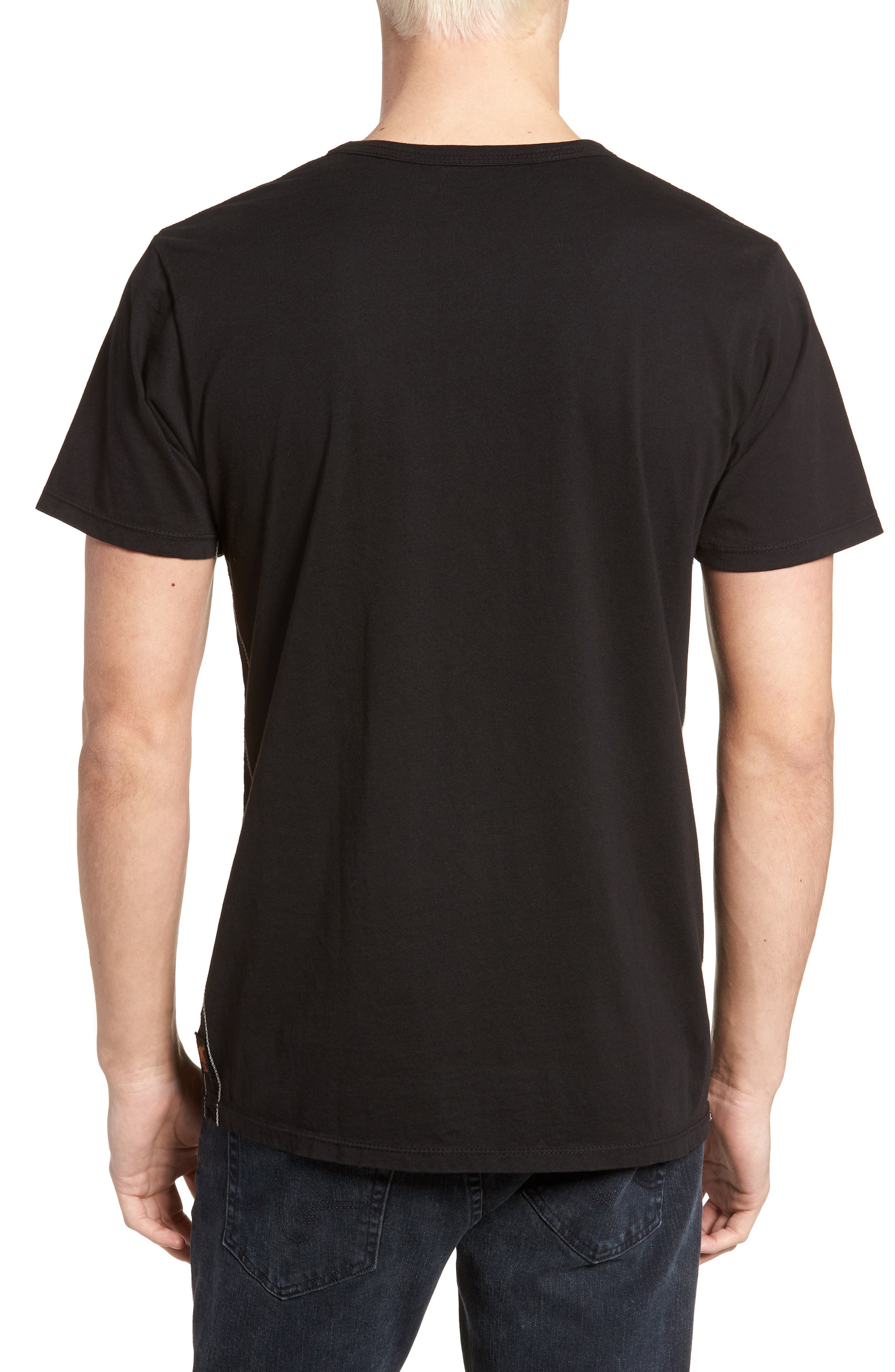 Kurt Cobain Classic T-Shirt,                             Alternate thumbnail 2, color,                             Vintage Black