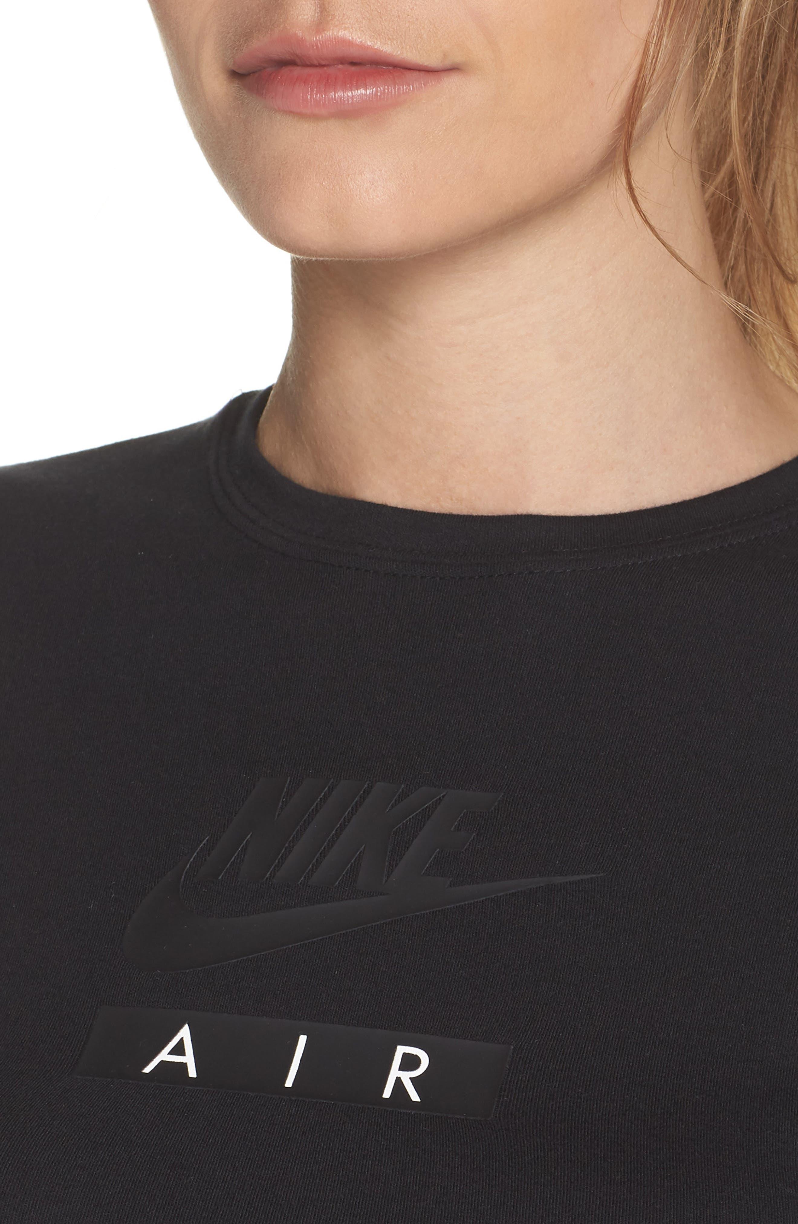 Alternate Image 4  - Nike Sportswear Baby Air Crop Tee