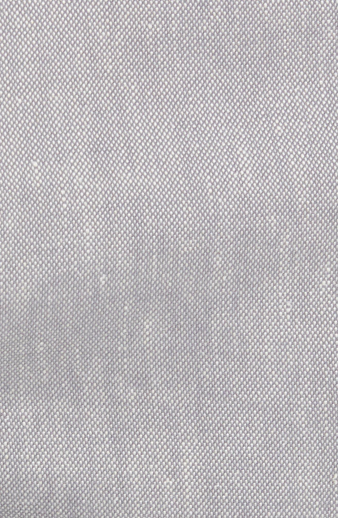 Alternate Image 5  - Ted Baker London Newshow Flat Front Stretch Cotton Blend Shorts