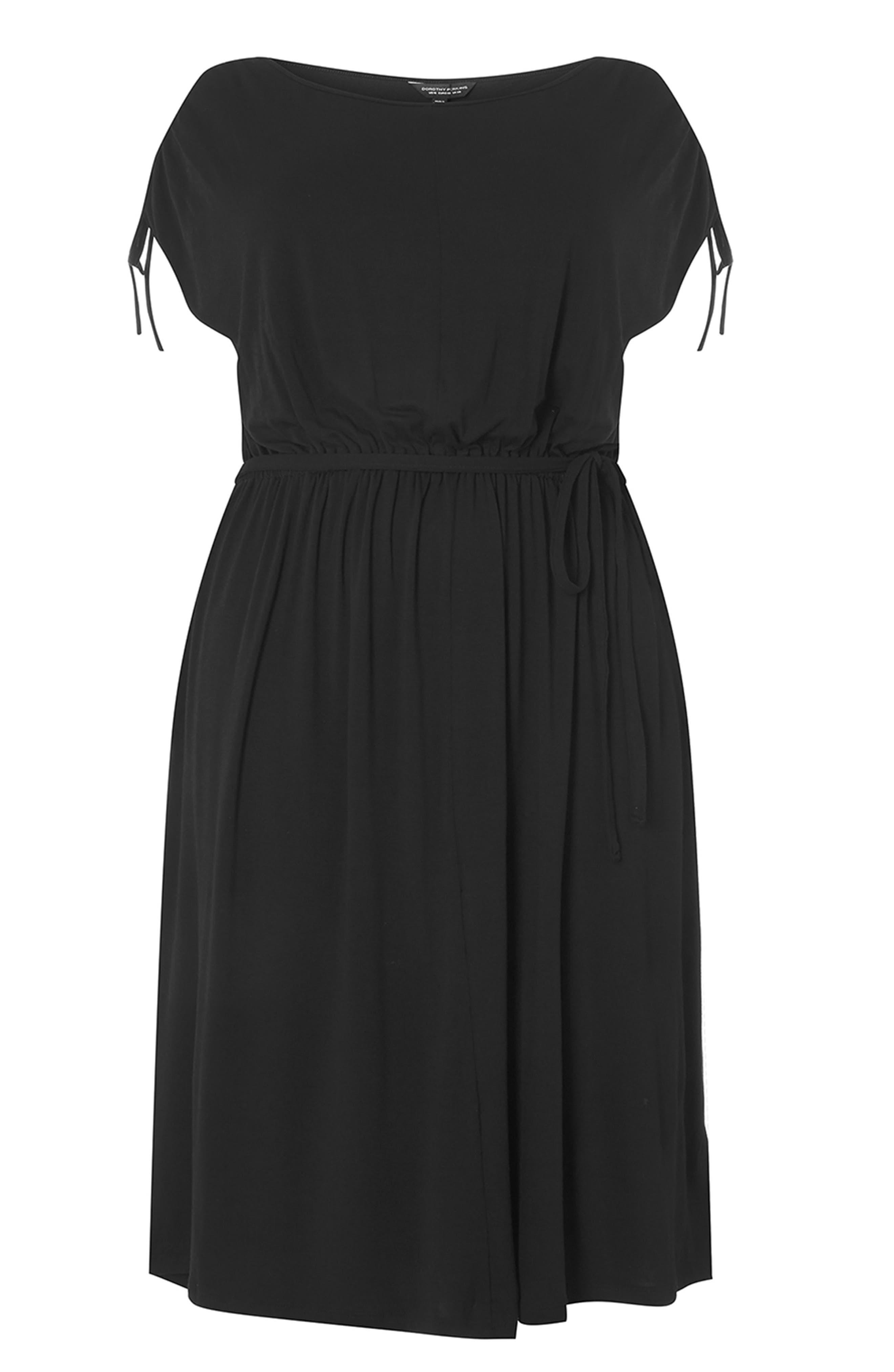 Alternate Image 6  - Dorothy Perkins Stretch Jersey Midi Dress (Plus Size)