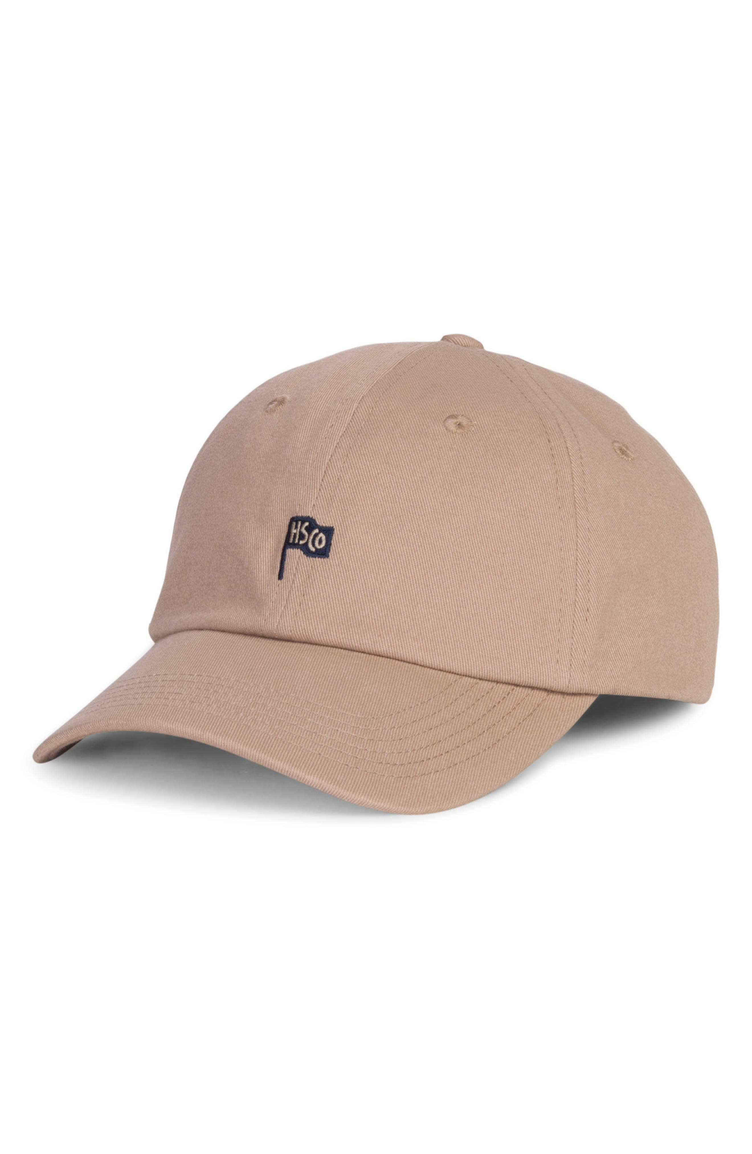 Sylas Baseball Cap,                             Main thumbnail 1, color,                             Khaki