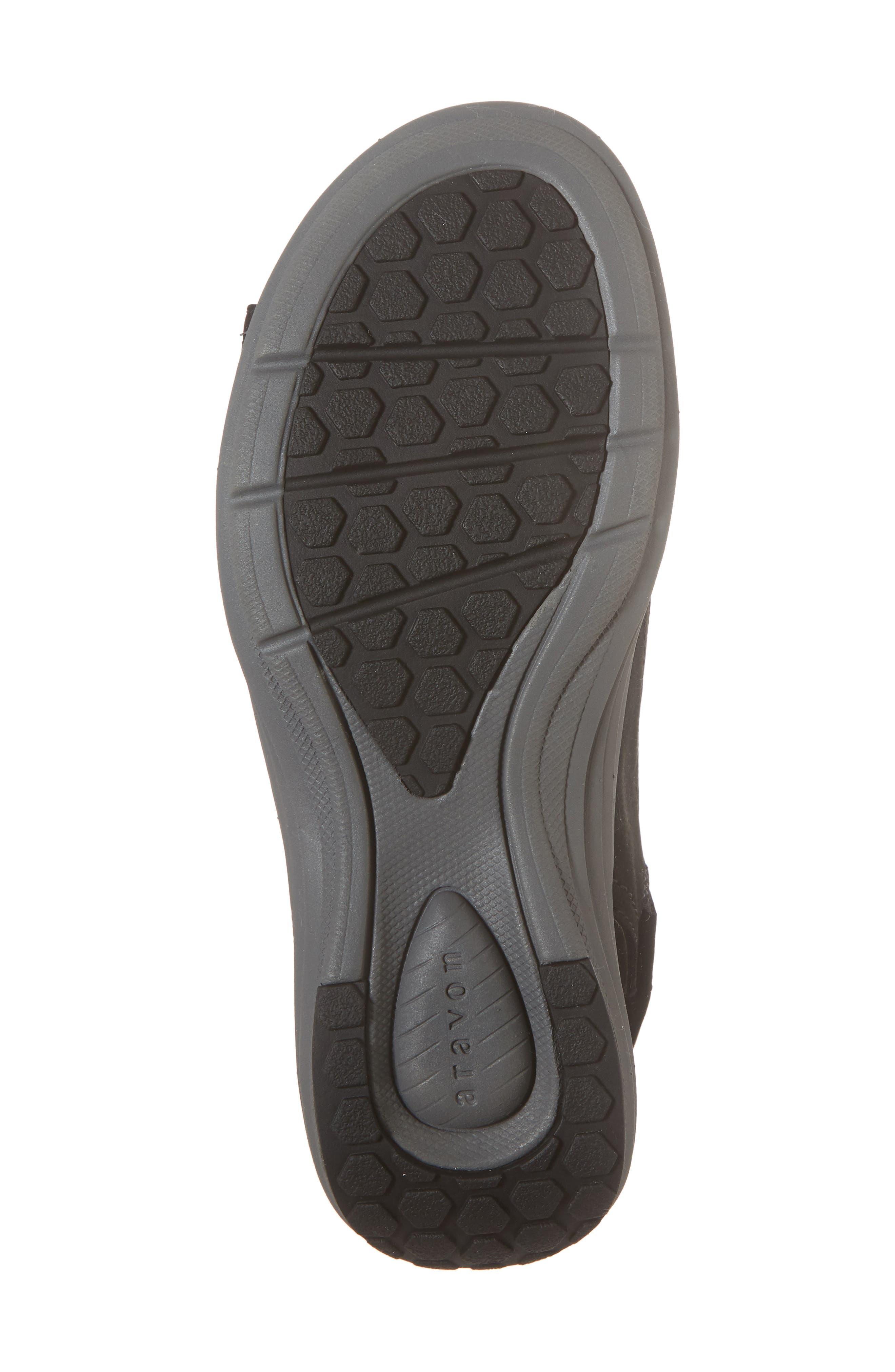 Beaumont Slingback Sandal,                             Alternate thumbnail 6, color,                             Black Nubuck Leather