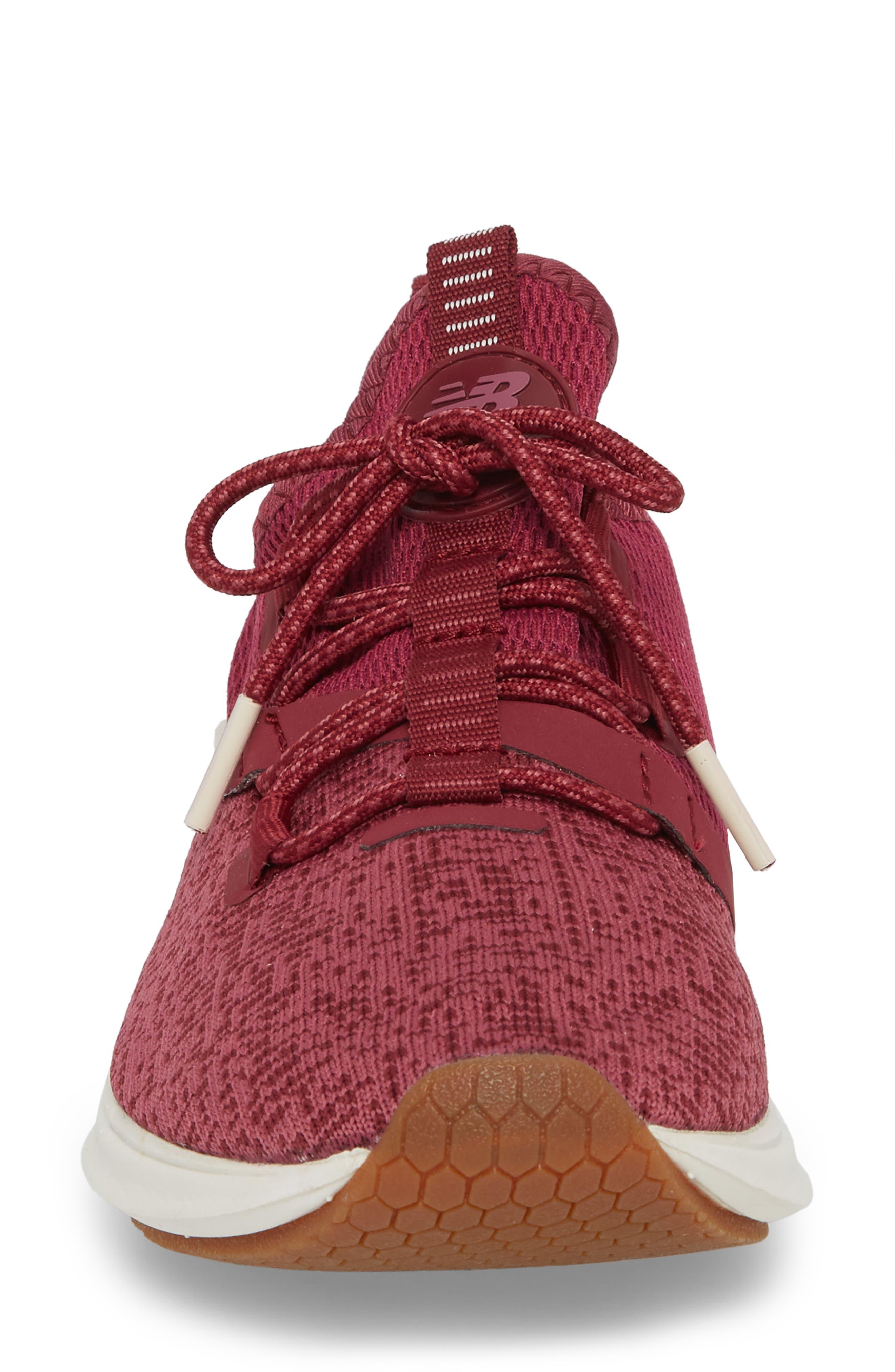 Fresh Foam Lazr Sport Running Shoe,                             Alternate thumbnail 4, color,                             Purple