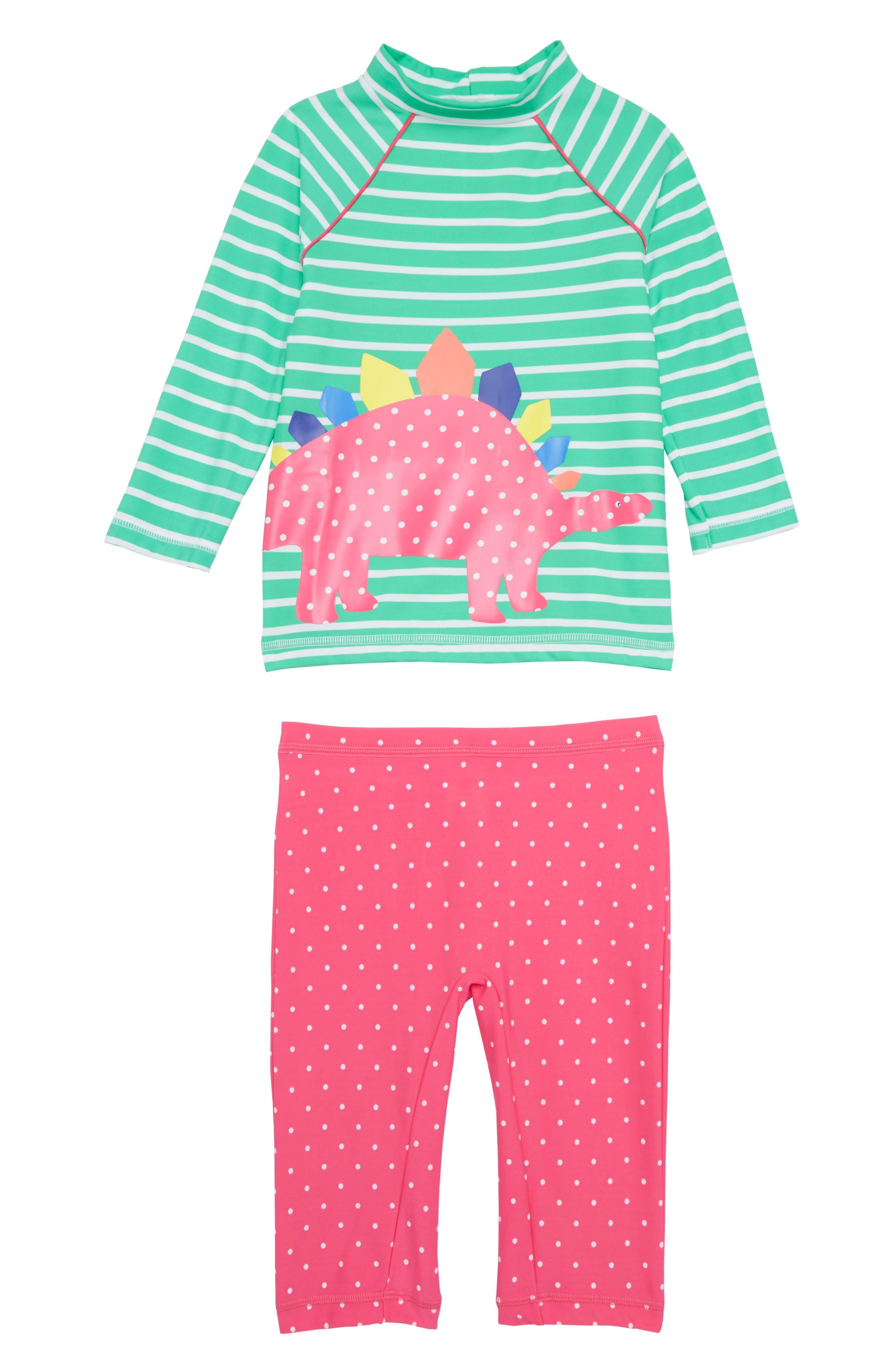 Mini Boden Sea Explorer Surf Suit Two-Piece Rashguard Swimsuit (Toddler Girls, Little Girls & Big Girls)