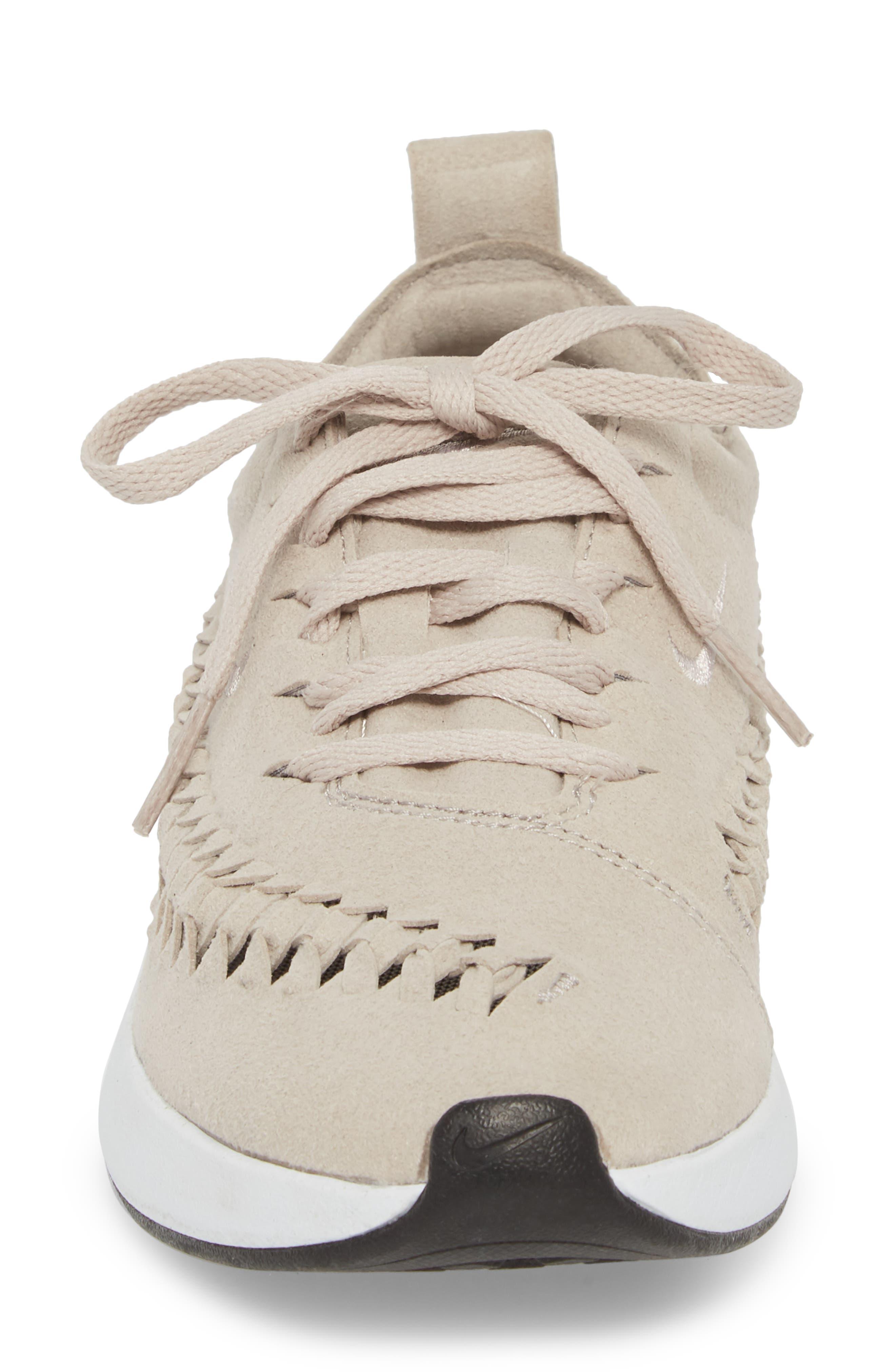 Dualtone Racer Woven Sneaker,                             Alternate thumbnail 4, color,                             Moon Particle/ Moon Particle