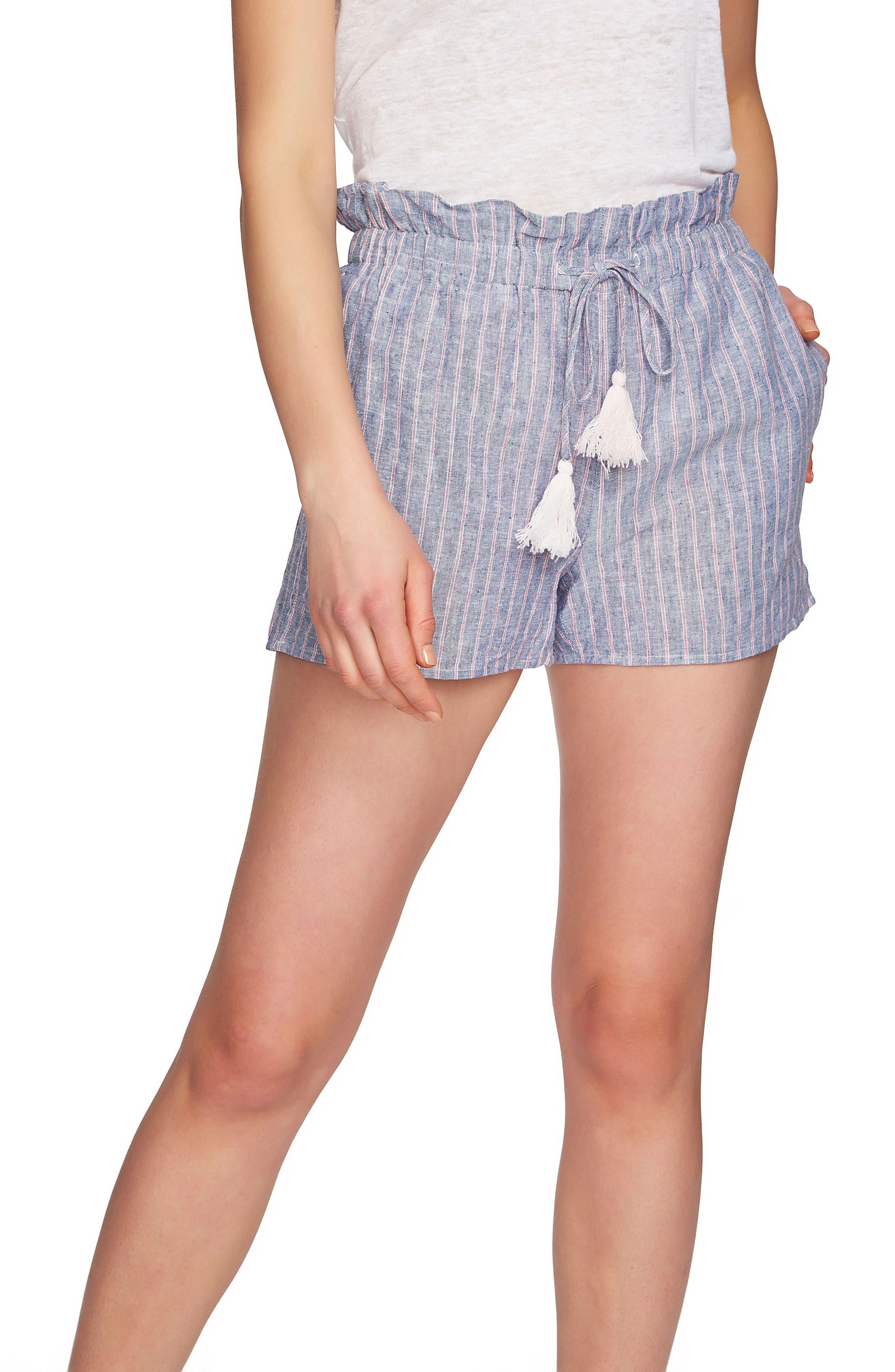 1.STATE Stripe Paperbag Shorts