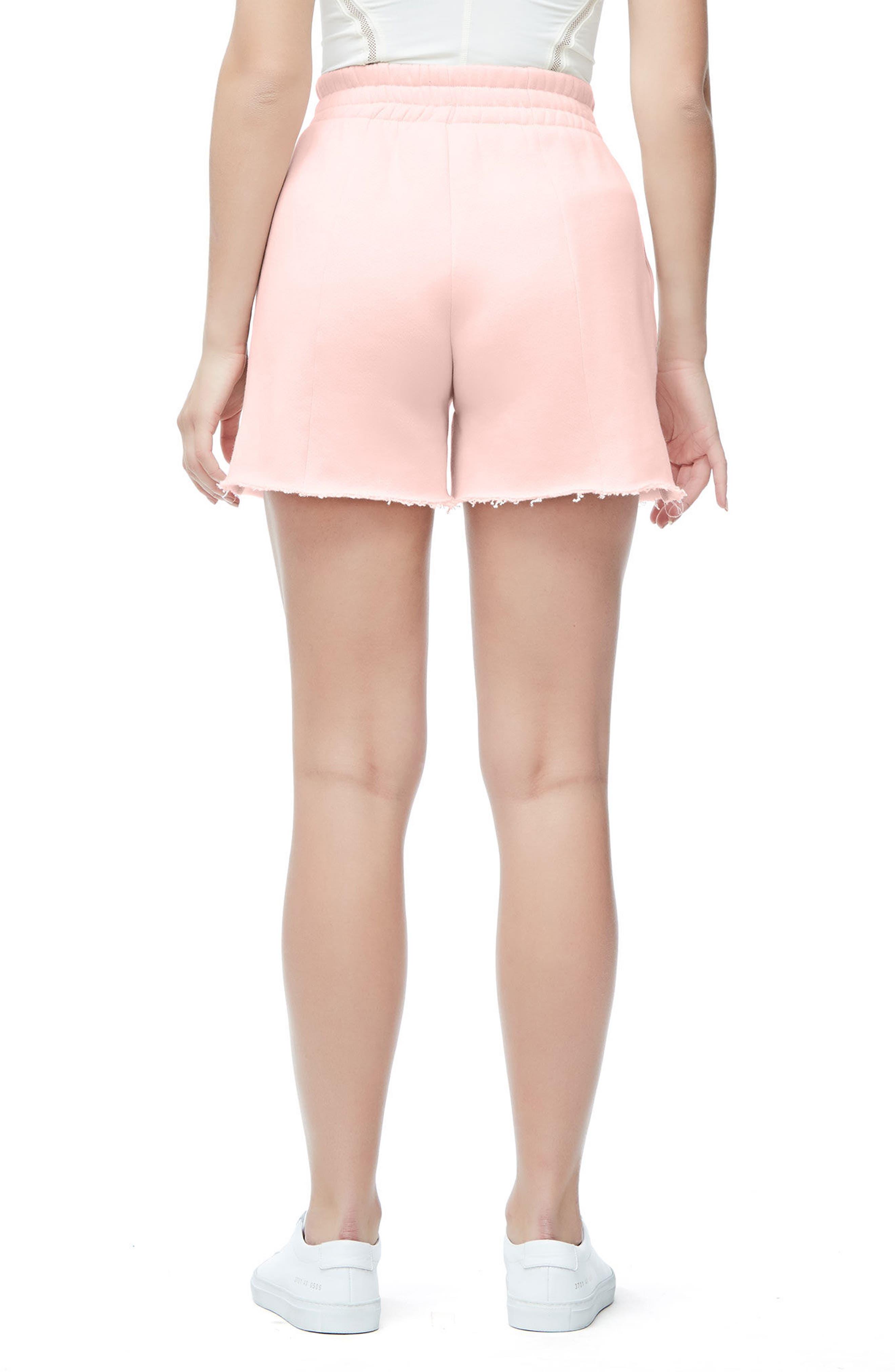 Alternate Image 2  - Good American Wide Leg Sweat Shorts (Regular & Plus Size)