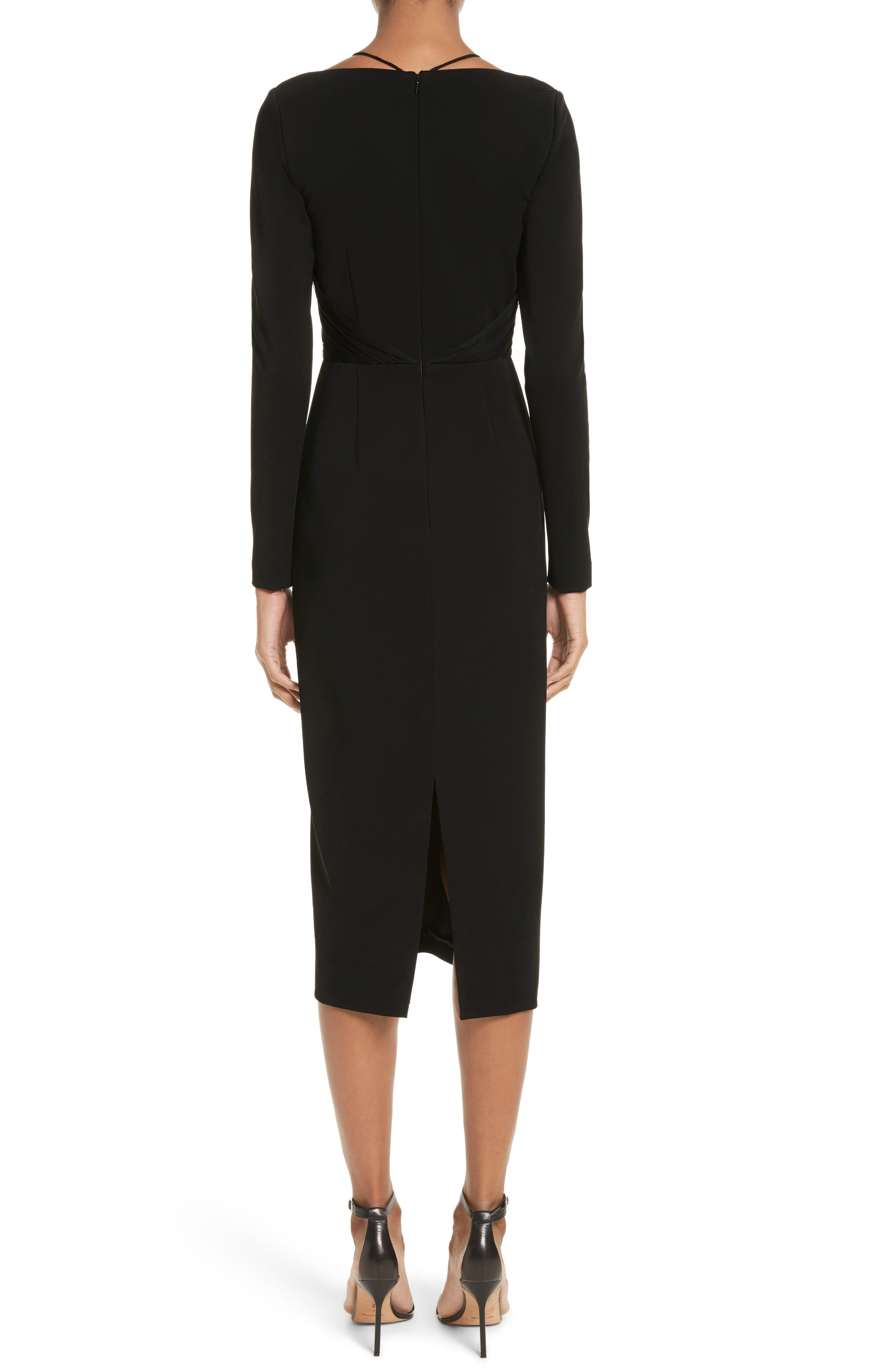 Alternate Image 2  - Cushnie et Ochs Ruffle Pencil Dress