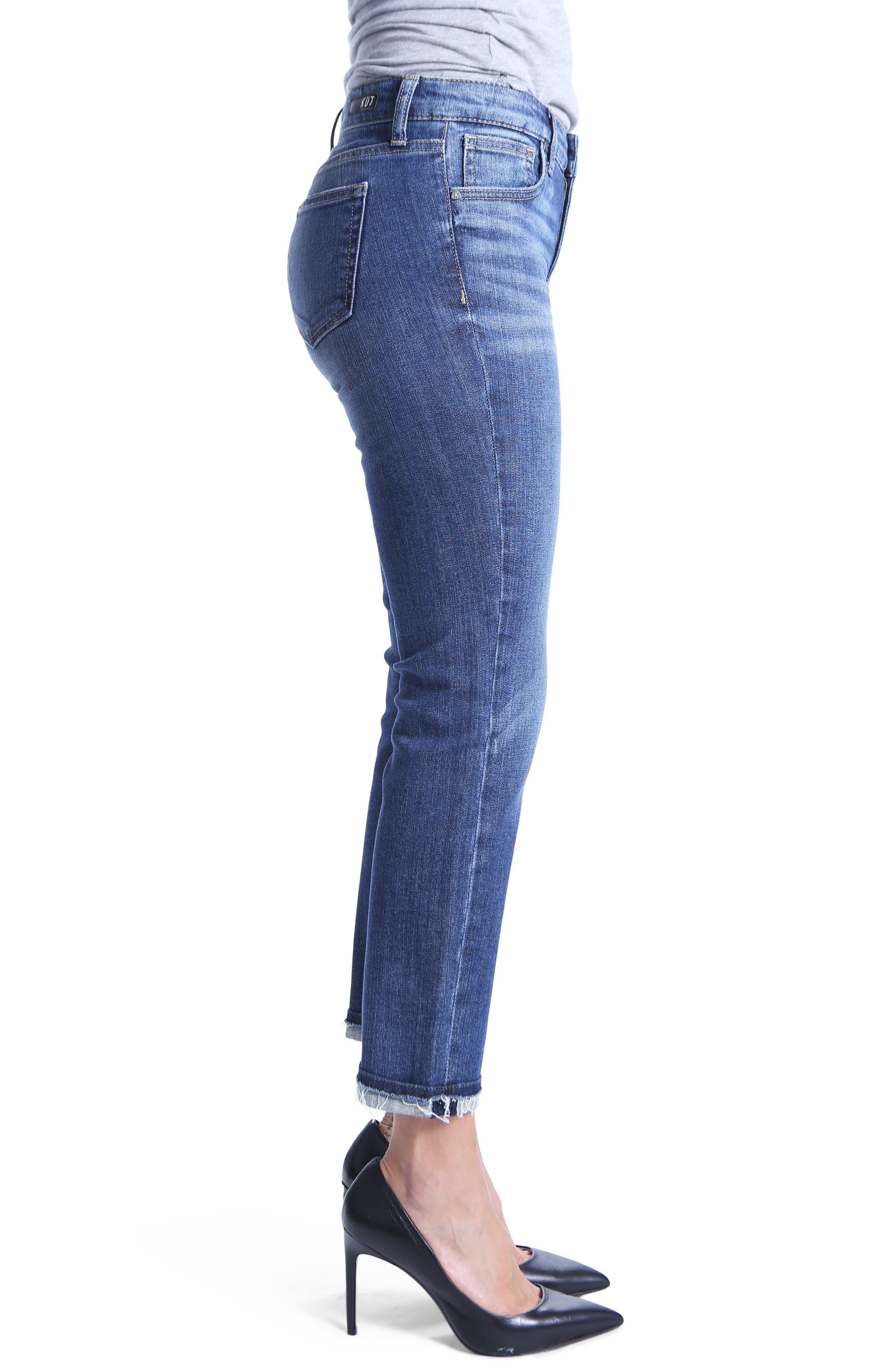 Uma Boyfriend Jeans,                             Alternate thumbnail 3, color,                             Improvise