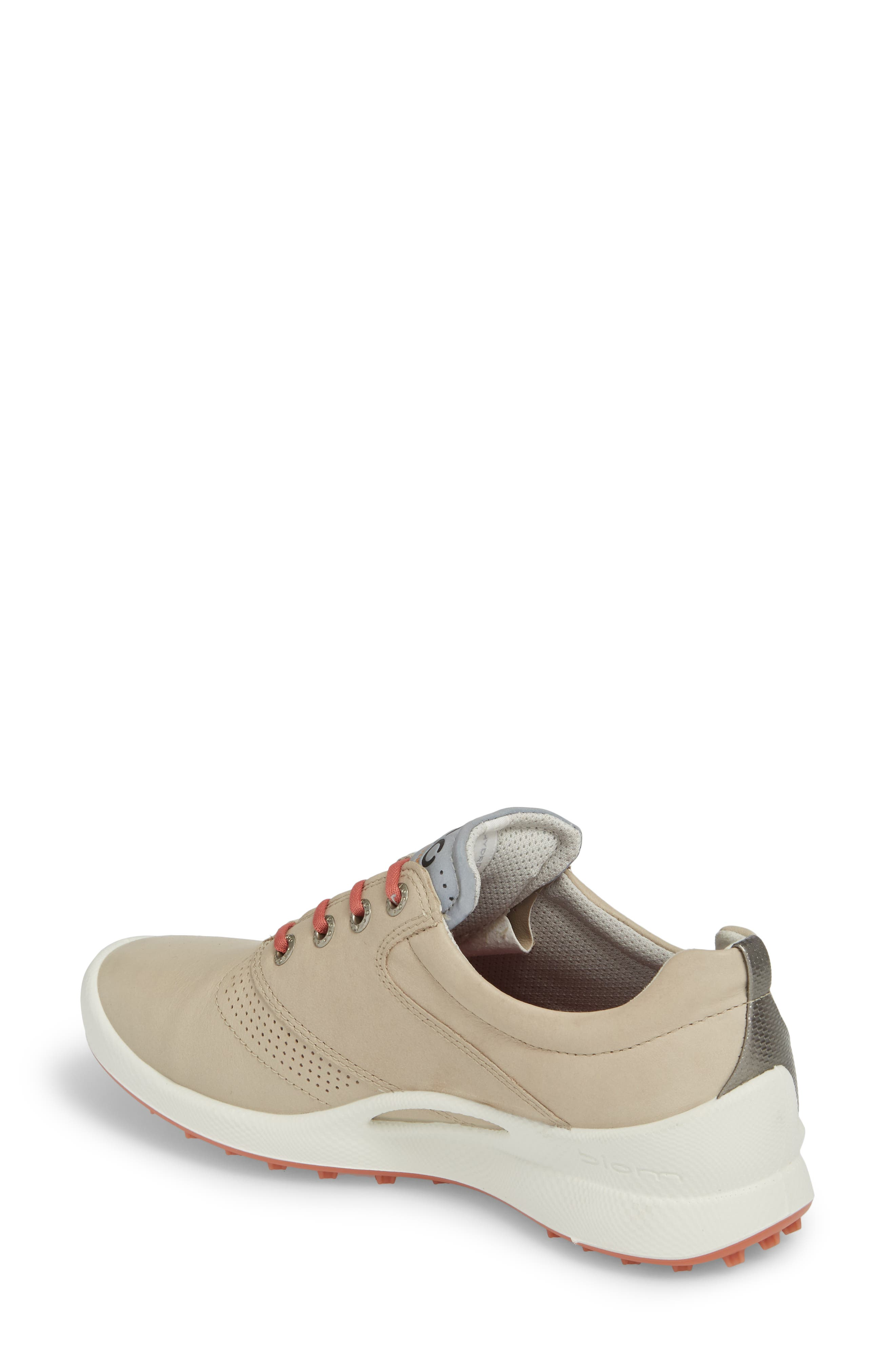 Biom Hybrid Golf Shoe,                             Alternate thumbnail 2, color,                             Oyster Leather