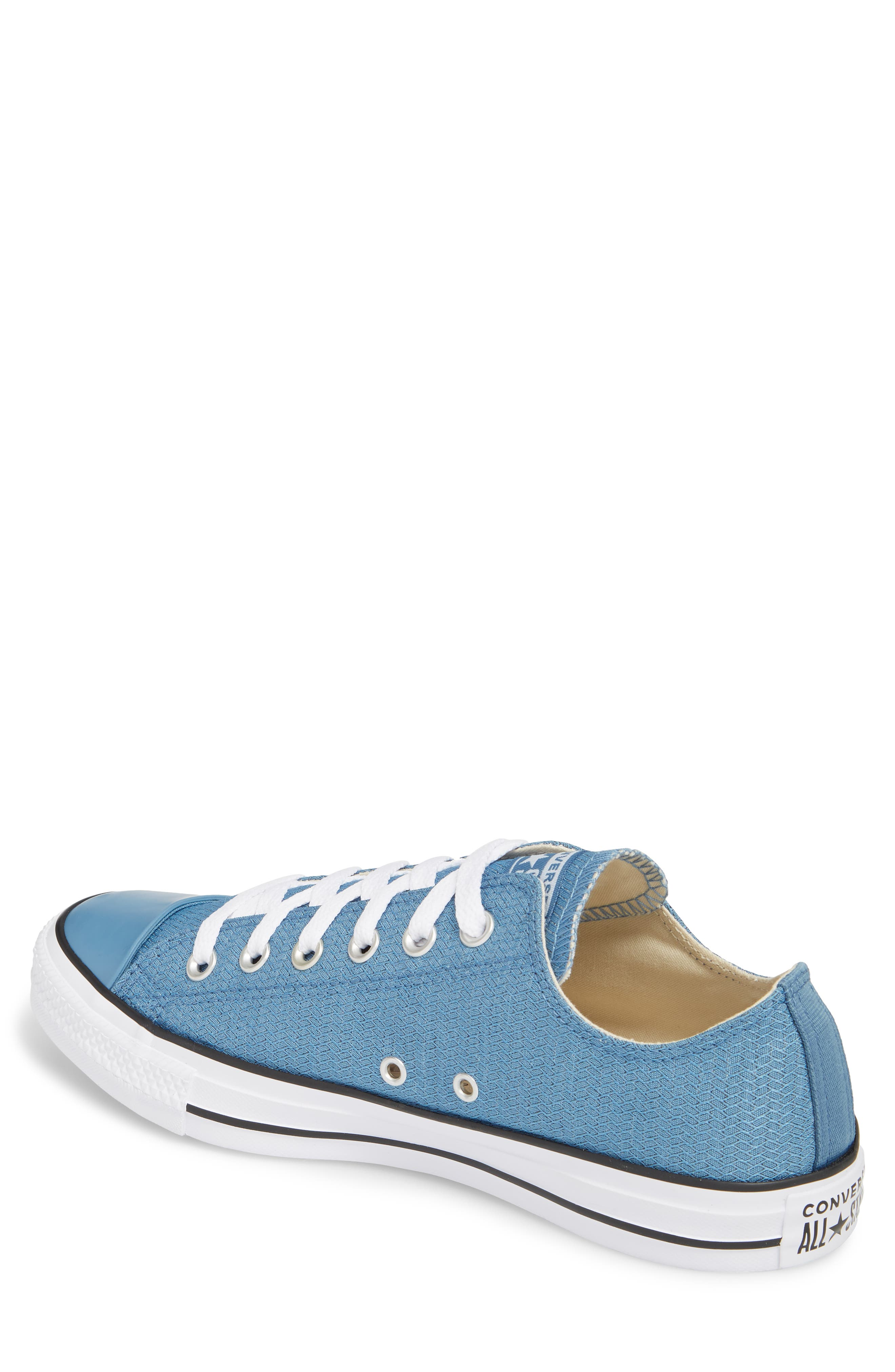 All Star<sup>®</sup> Ripstop Low Top Sneaker,                             Alternate thumbnail 2, color,                             Aegean Storm