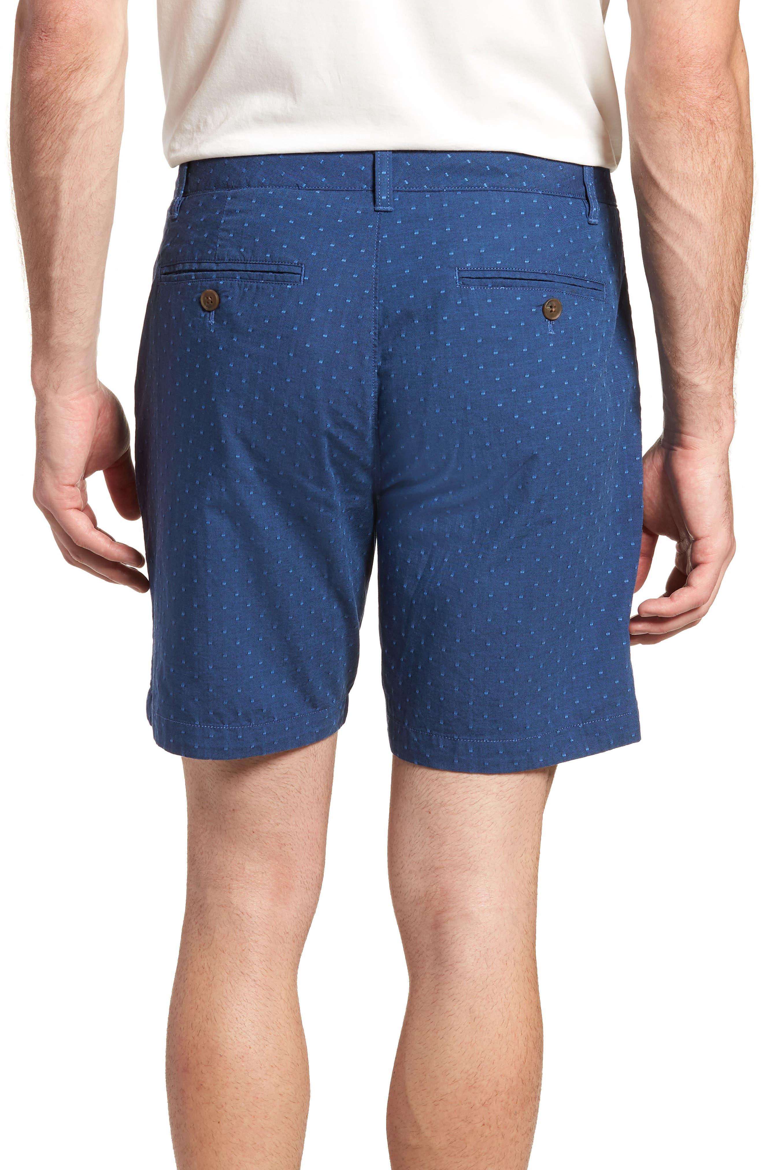 Novelty Chino Shorts,                             Alternate thumbnail 2, color,                             Blue Dot Jacquard