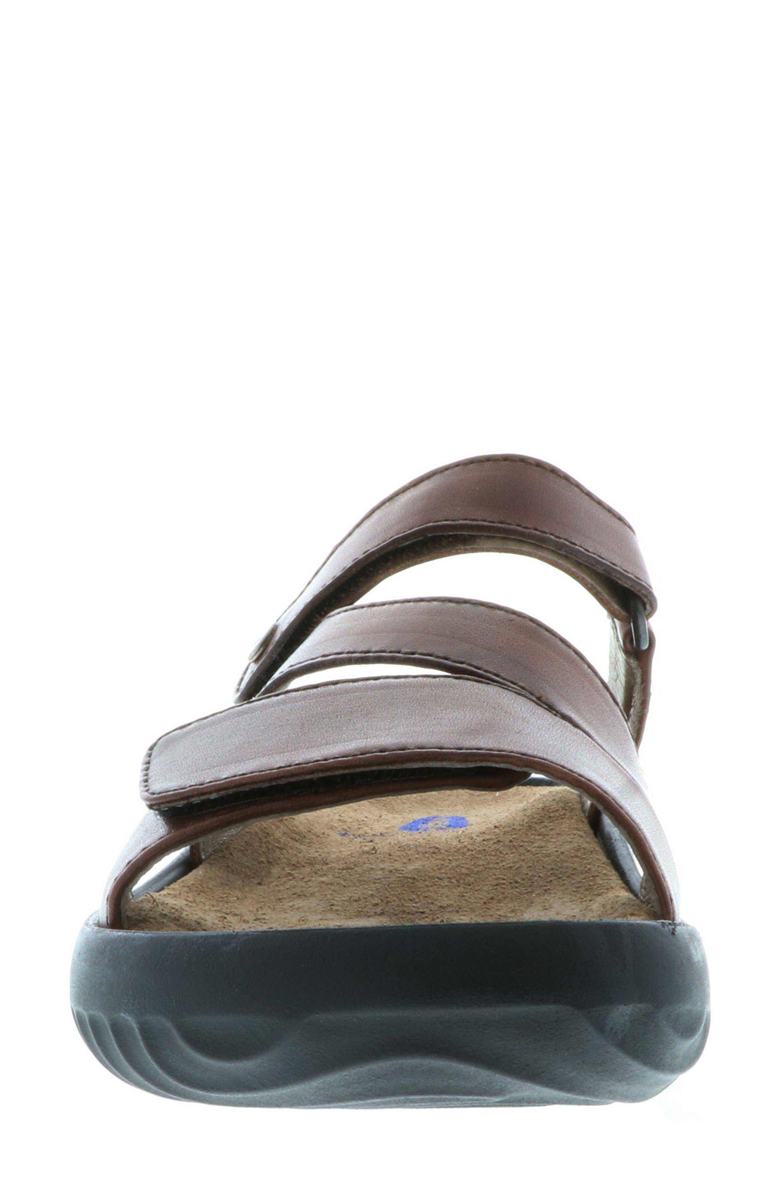 Sense Slide Sandal,                             Alternate thumbnail 4, color,                             Cognac