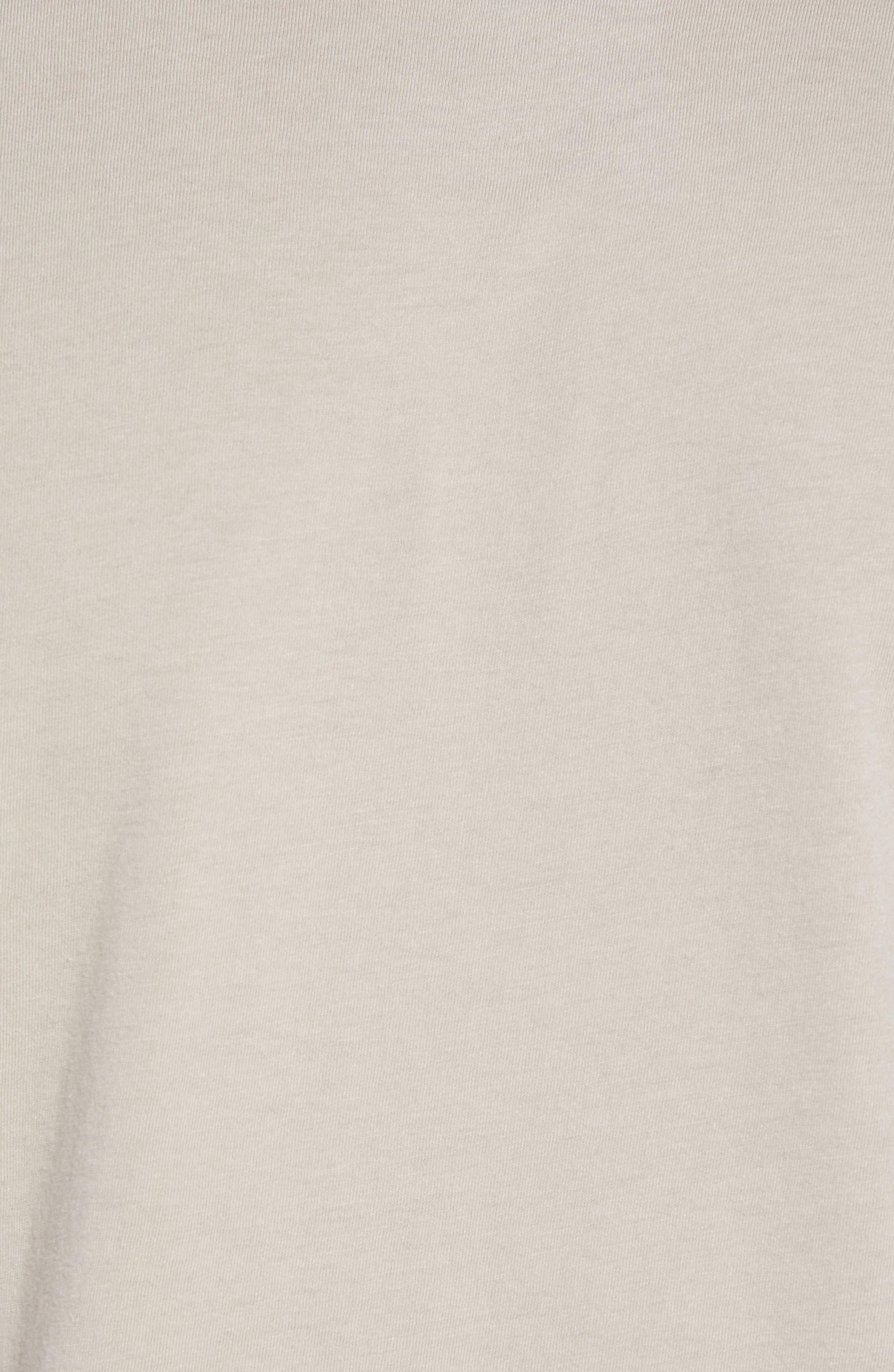 Tri-Splice T-Shirt,                             Alternate thumbnail 5, color,                             Beige Navy Sun Splice