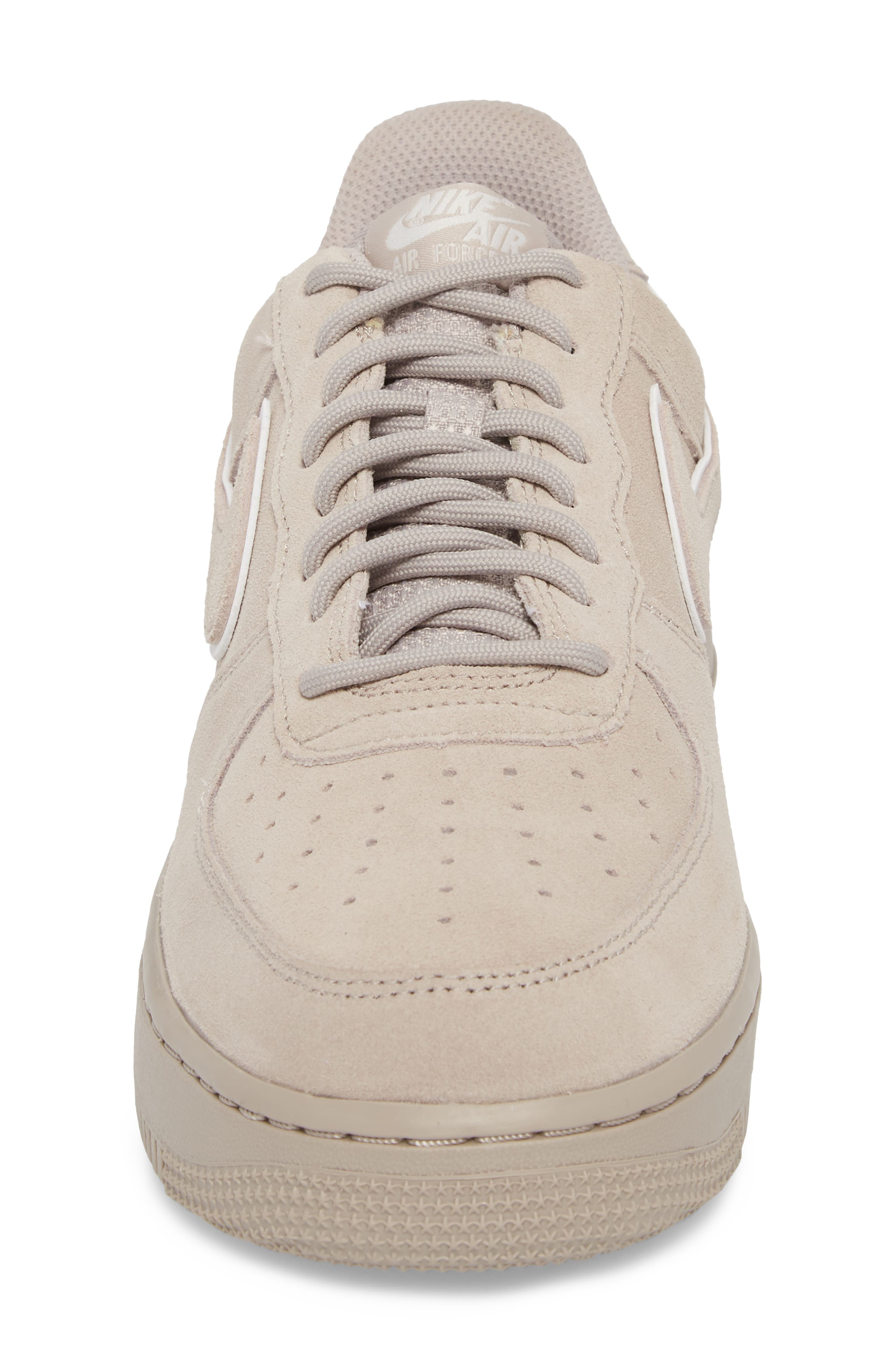 Air Force 1 '07 Low LV8 Sneaker,                             Alternate thumbnail 4, color,                             Moon Particle/ Sepia Stone