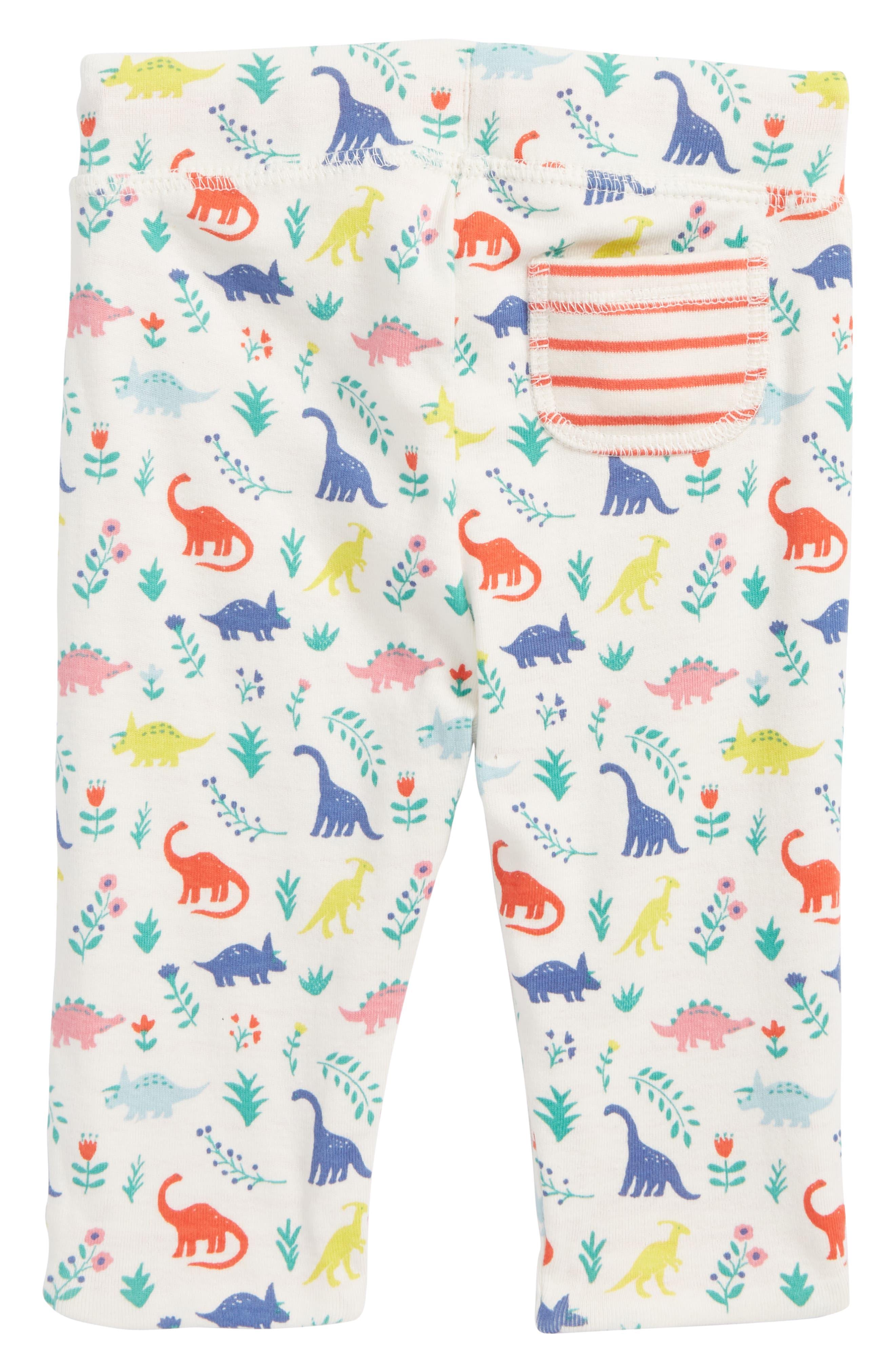 Reversible Print Pants,                             Alternate thumbnail 2, color,                             Multi Dino Floral