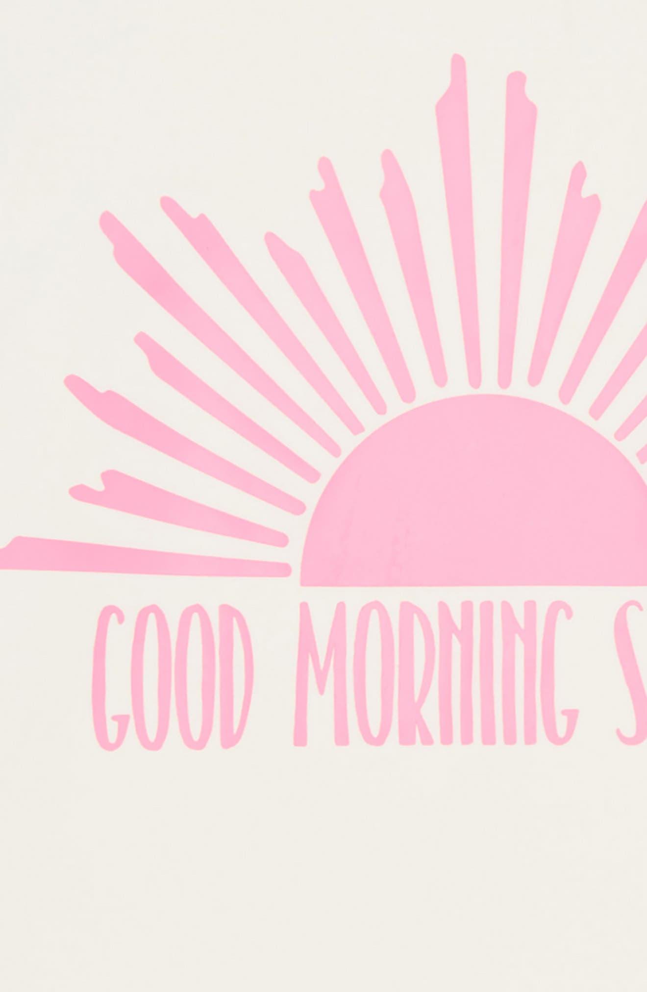 Good Morning Sunshine Two-Piece Rashguard Swimsuit,                             Alternate thumbnail 2, color,                             Multi