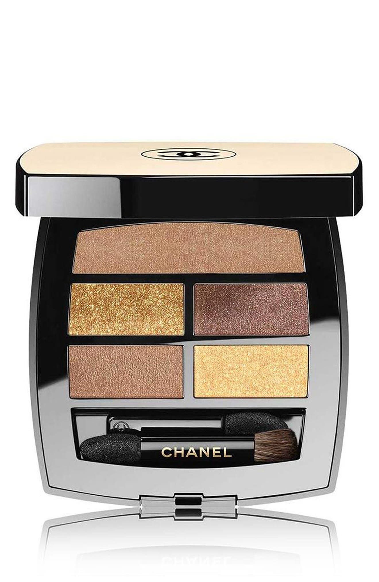 LES BEIGES HEALTHY GLOW Natural Eyeshadow Palette,                         Main,                         color, Deep
