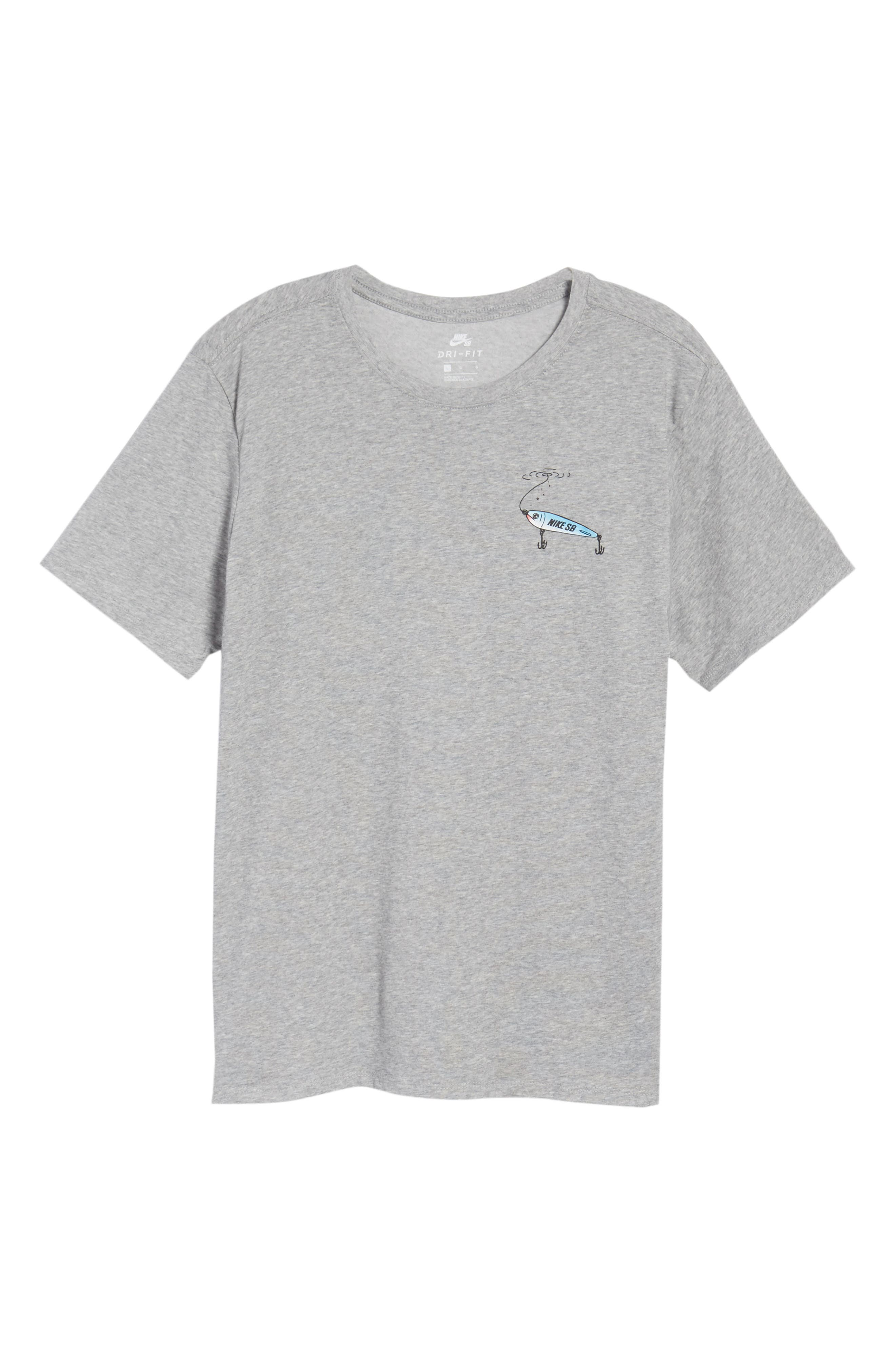 Alternate Image 5  - Nike SB Dry Walrus T-Shirt