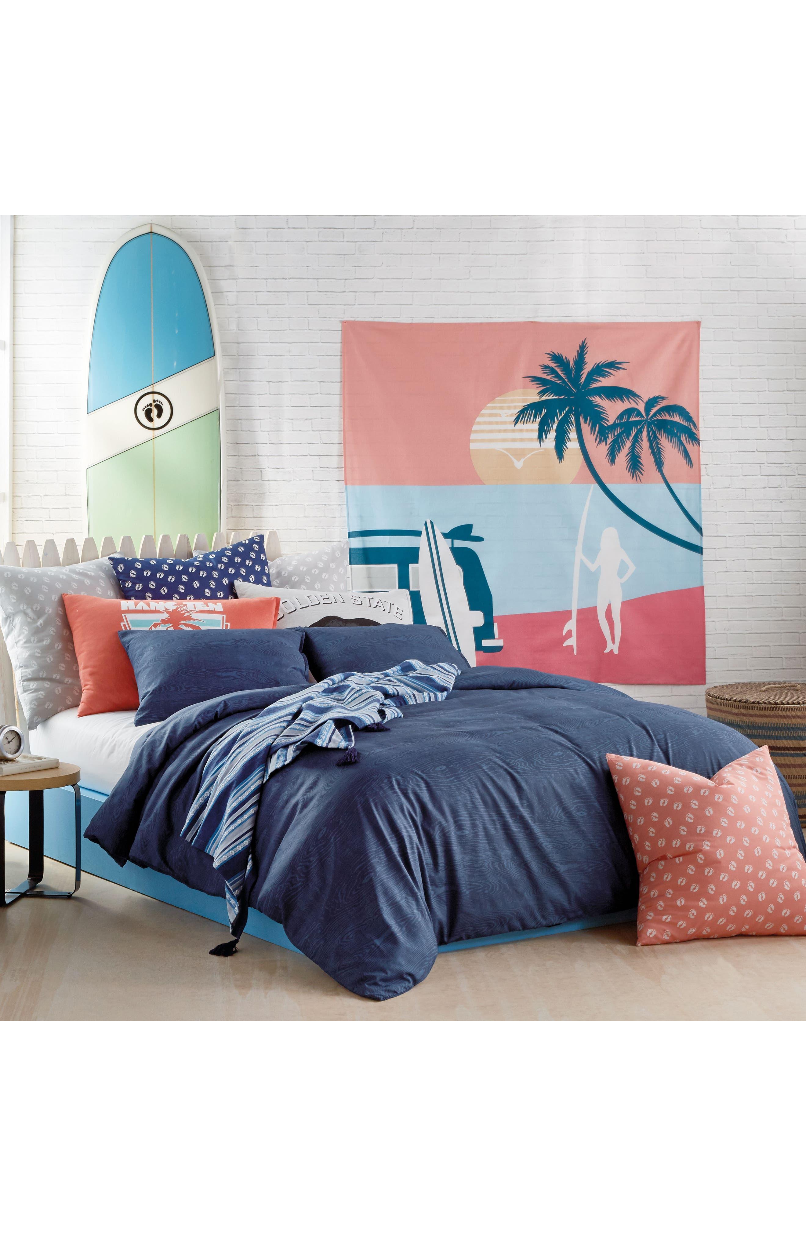 Woodgrain Comforter & Sham Set,                             Alternate thumbnail 6, color,