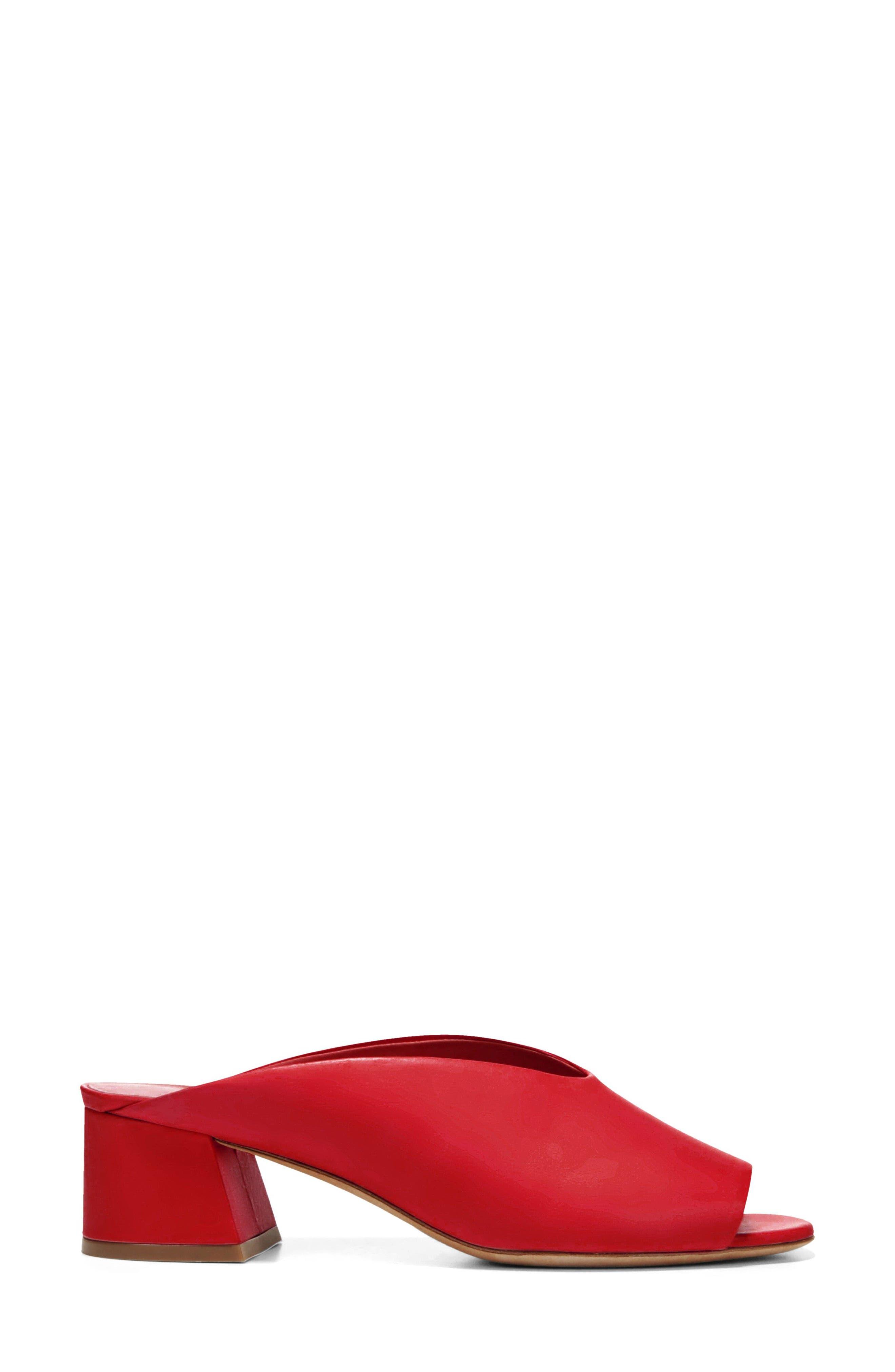 Cachet Sandal,                             Alternate thumbnail 3, color,                             Red