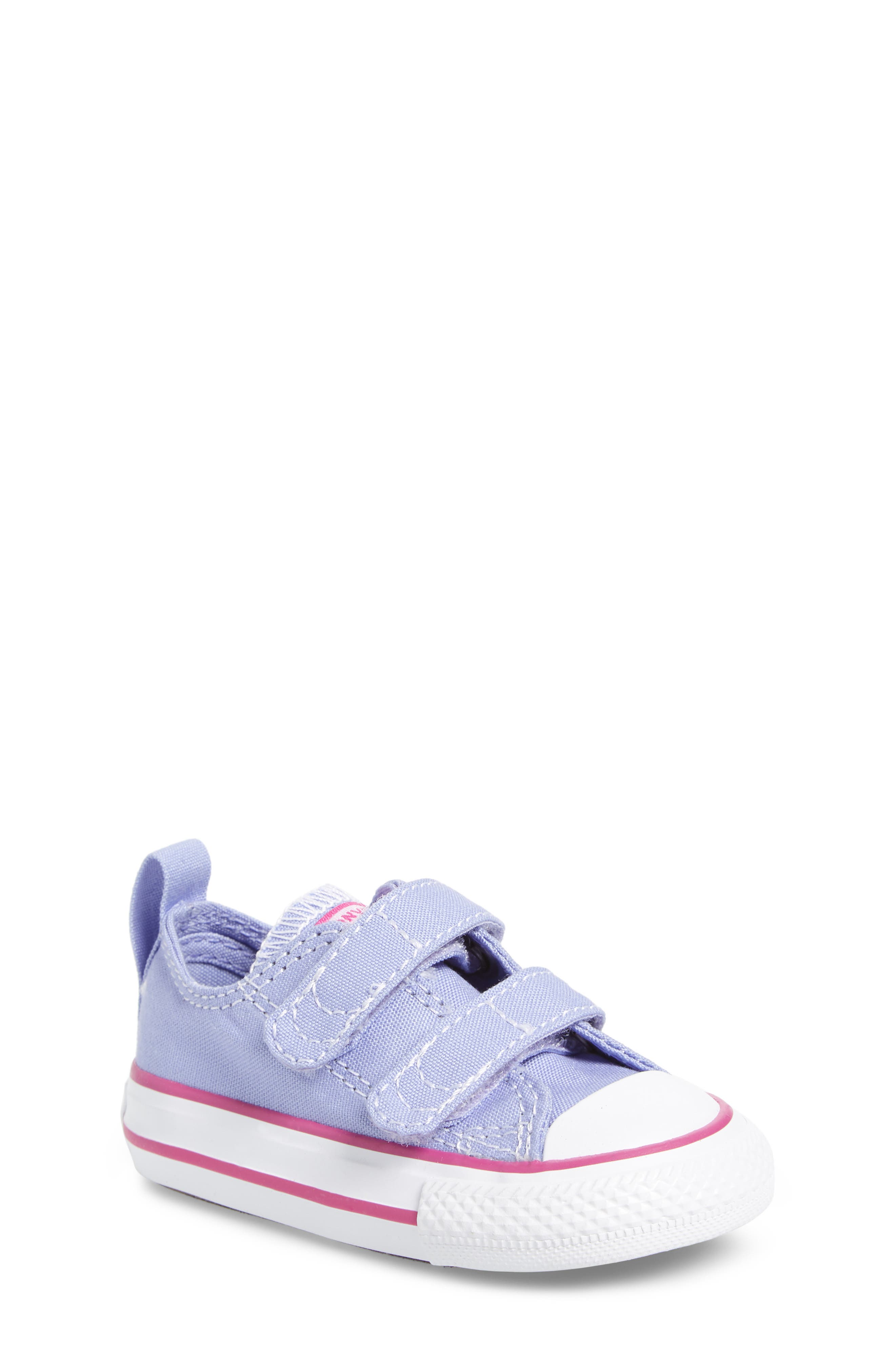All Star<sup>®</sup> 2V Low Top Sneaker,                         Main,                         color, Twilight Purple