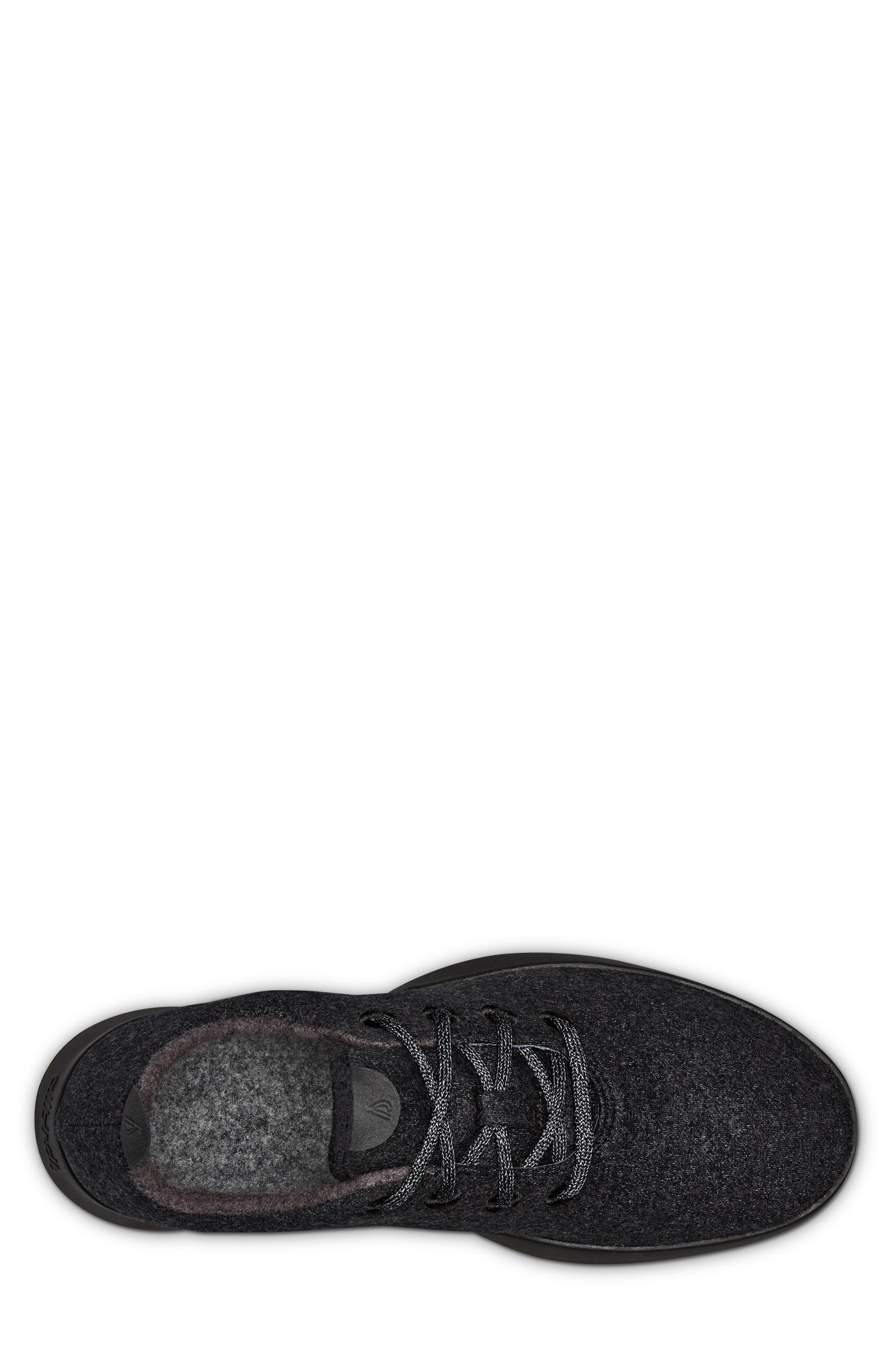 Wool Runner,                             Alternate thumbnail 4, color,                             Natural Black