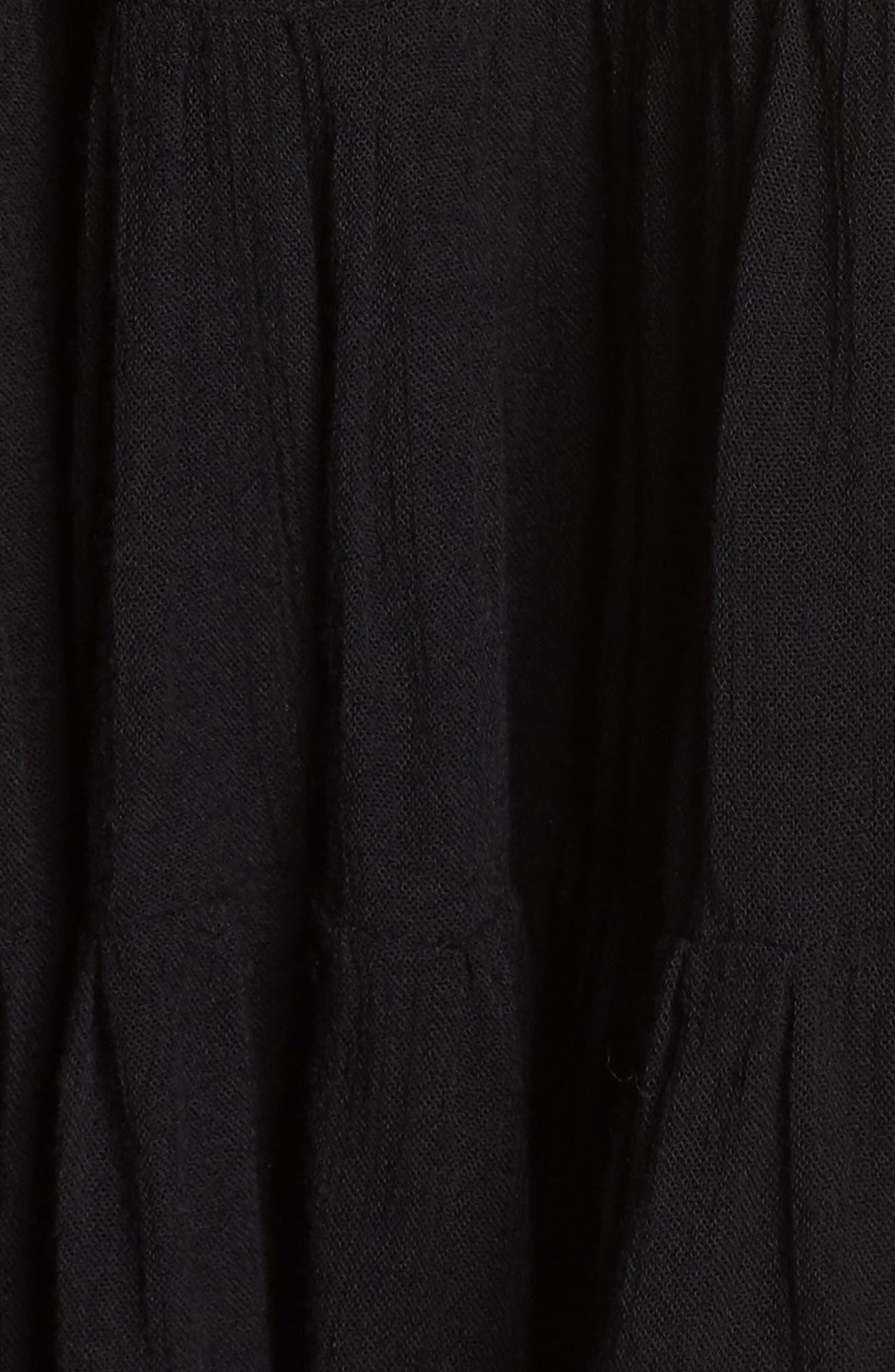 Alternate Image 5  - Muche et Muchette Gavin One-Shoulder Cover-Up Dress