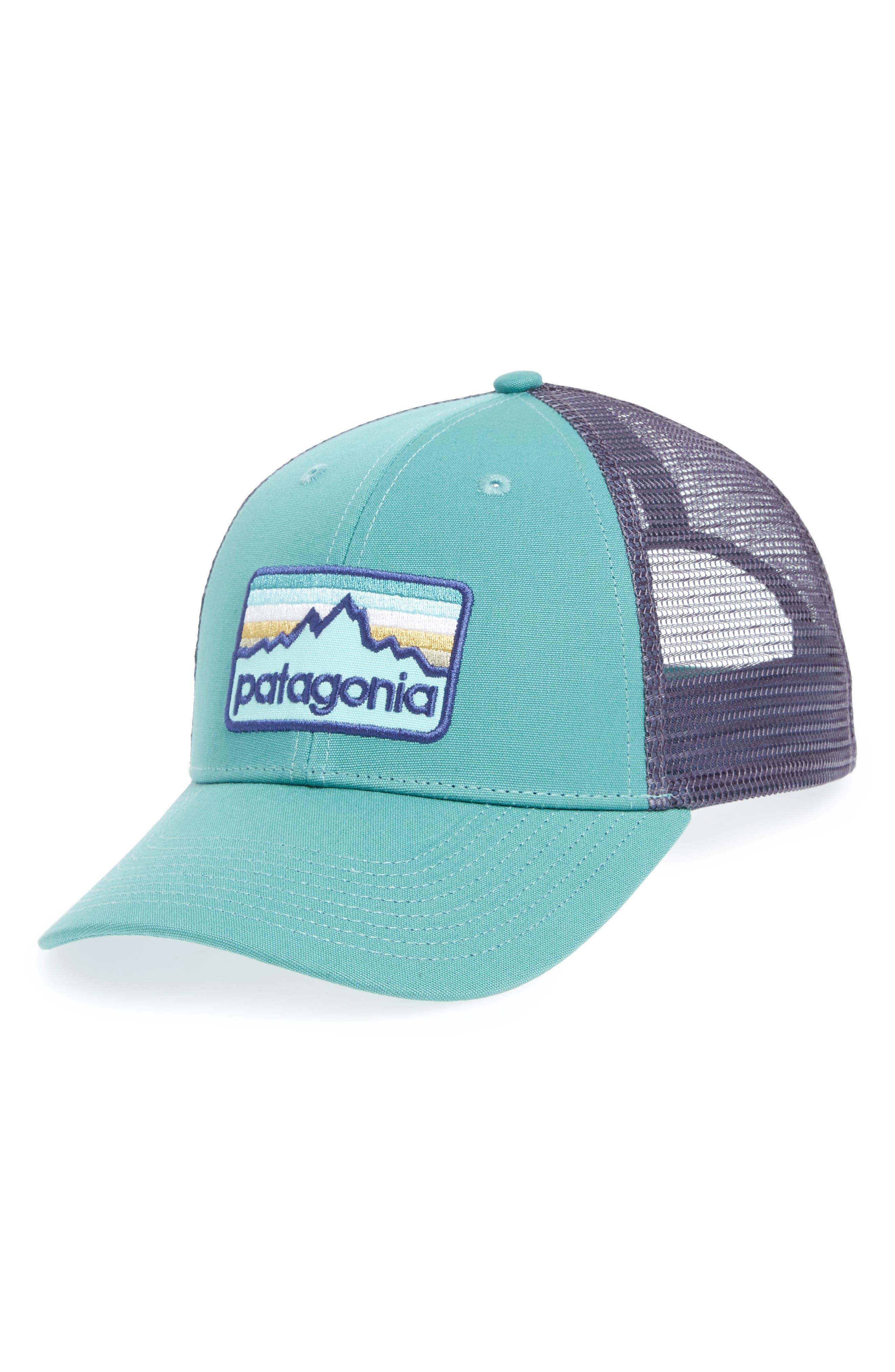 Patagonia Logo Badge Trucker Hat - Green In Beryl Green  f029dd525dd