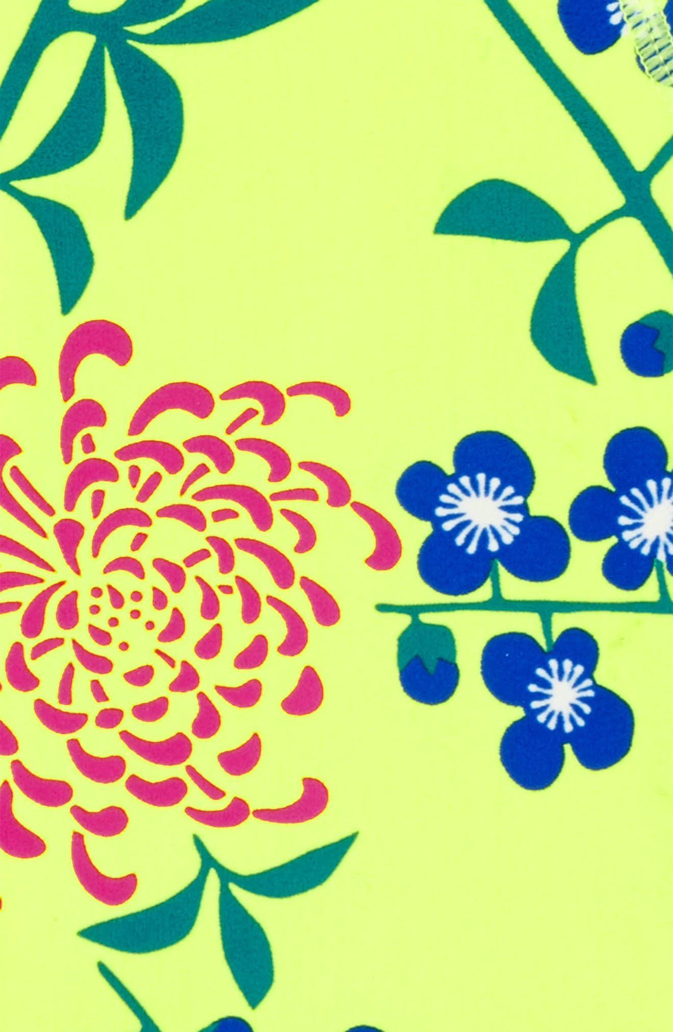 Short Sleeve Rashguard,                             Alternate thumbnail 2, color,                             Branch Blossoms