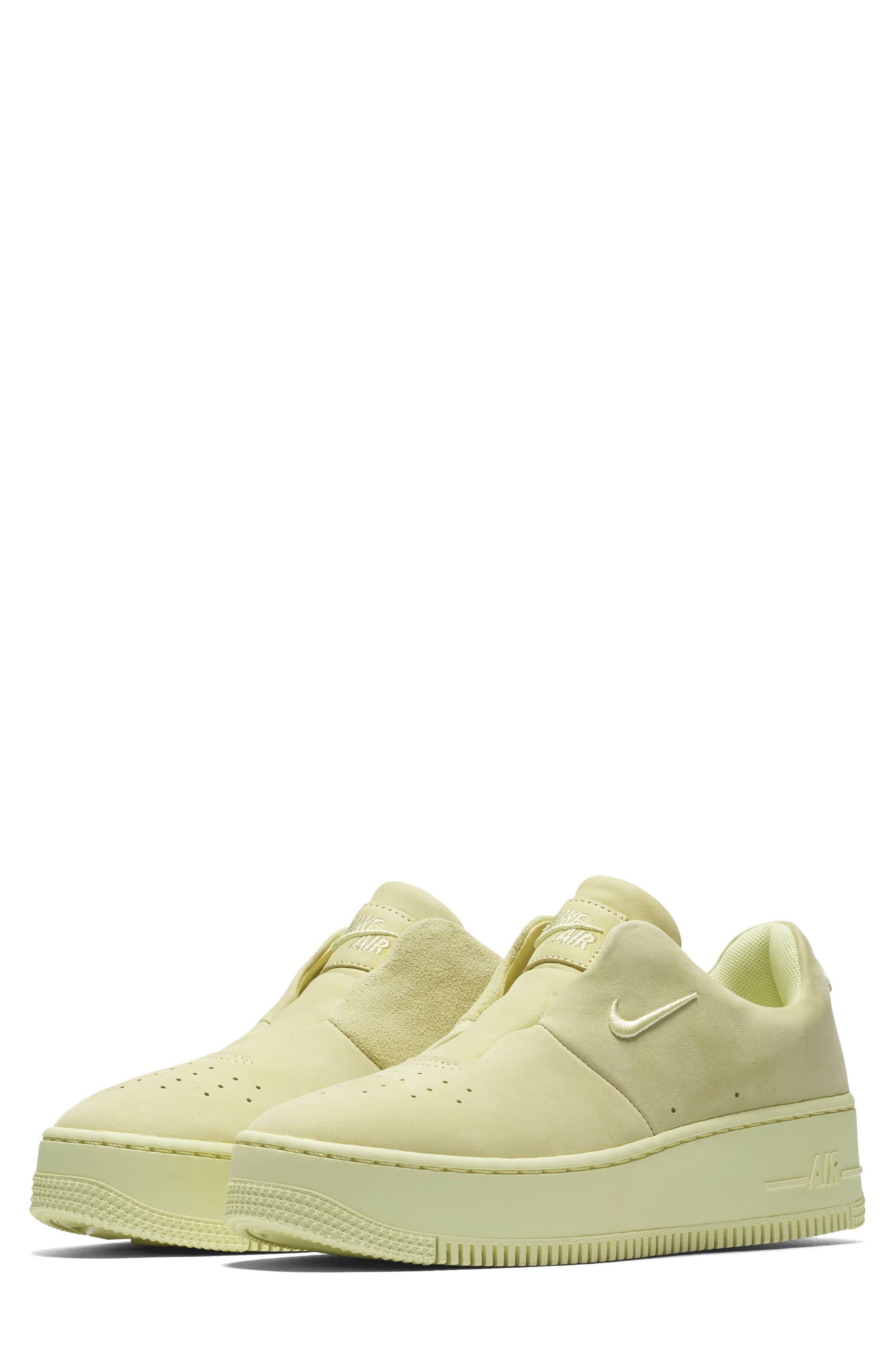 Air Force 1 Sage XX Sneaker,                             Main thumbnail 1, color,                             Luminous Green