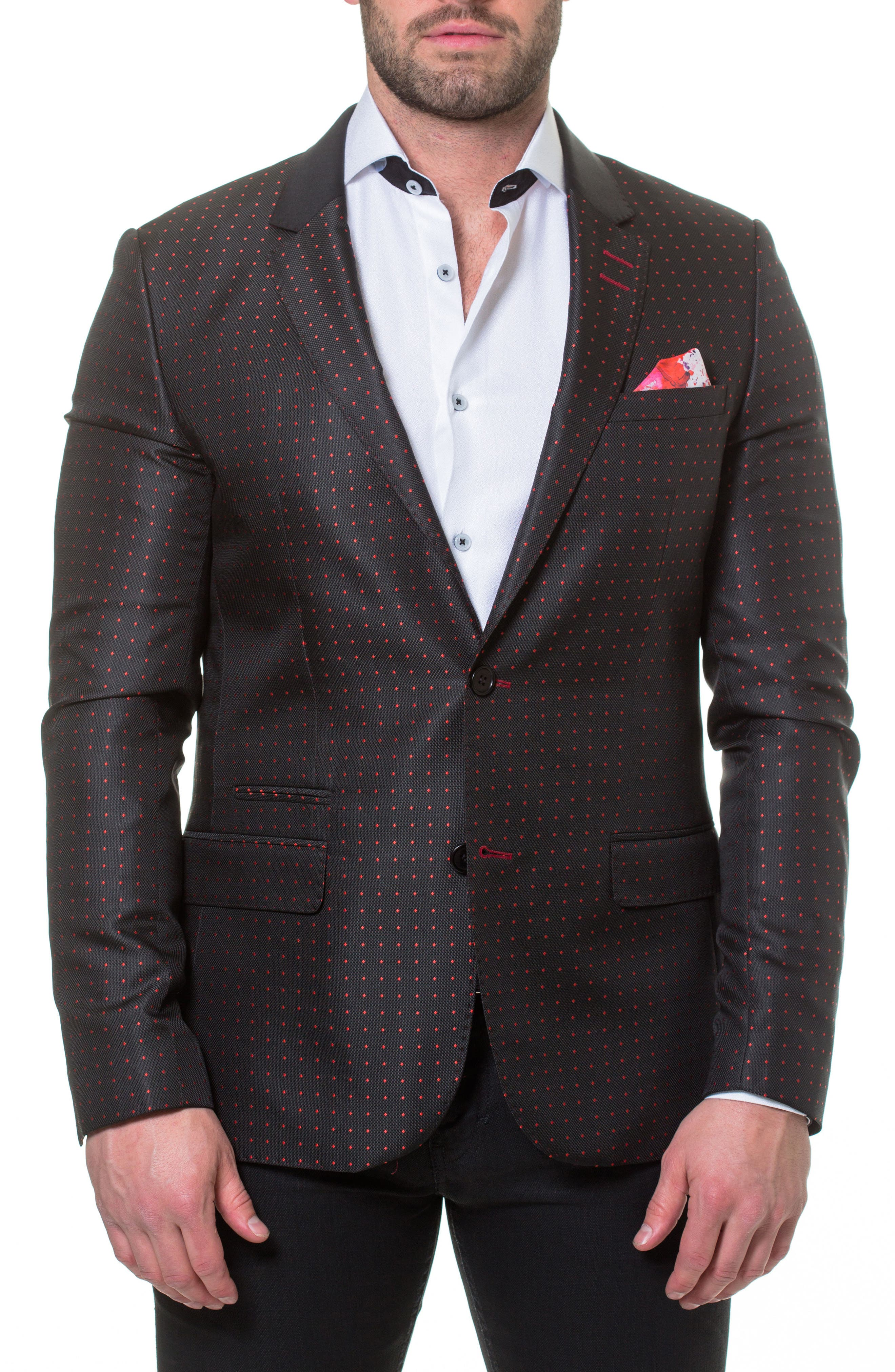 Socrate Dexter Sport Coat,                             Main thumbnail 1, color,                             Black