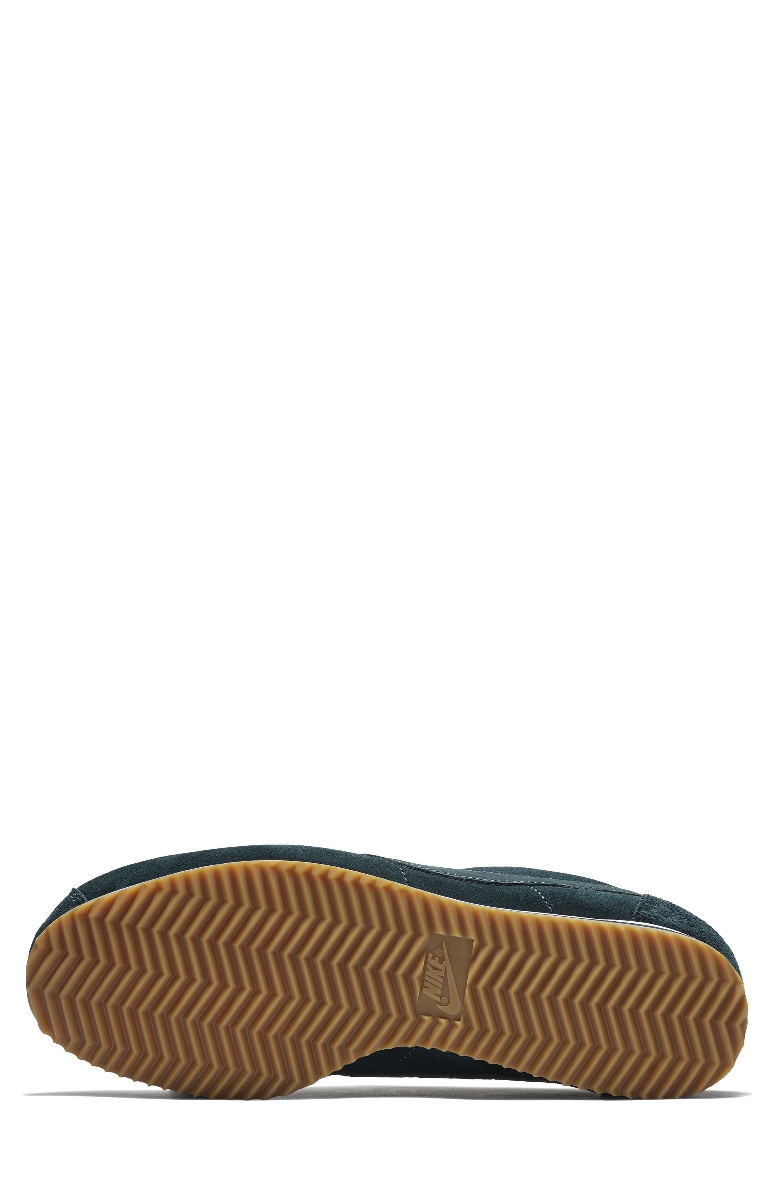 x A.L.C. Classic Cortez Sneaker,                             Alternate thumbnail 4, color,                             Midnight Spruce/ White