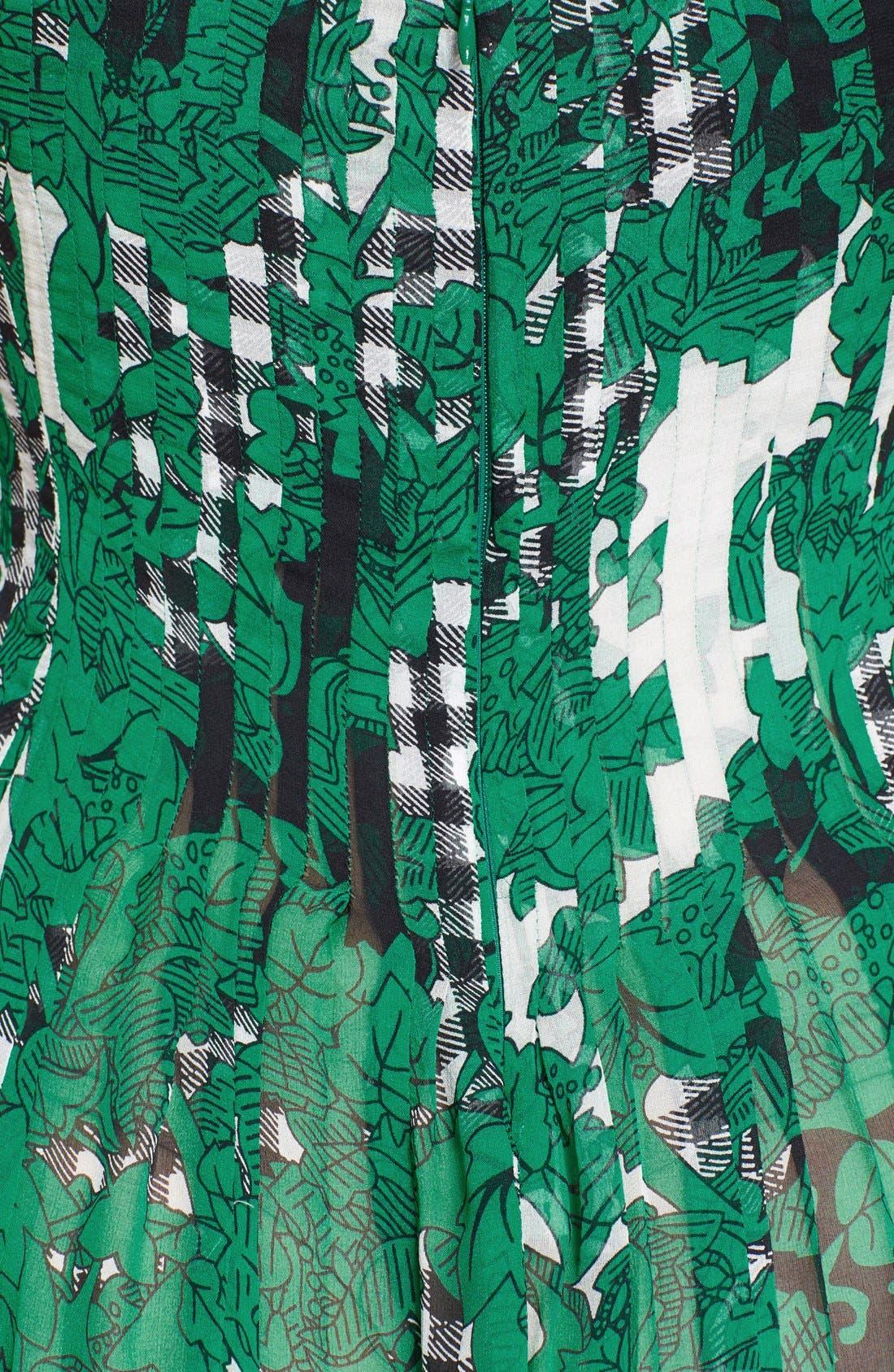Alternate Image 3  - Diane von Furstenberg 'Karlyn' Pleated Silk Fit & Flare Dress